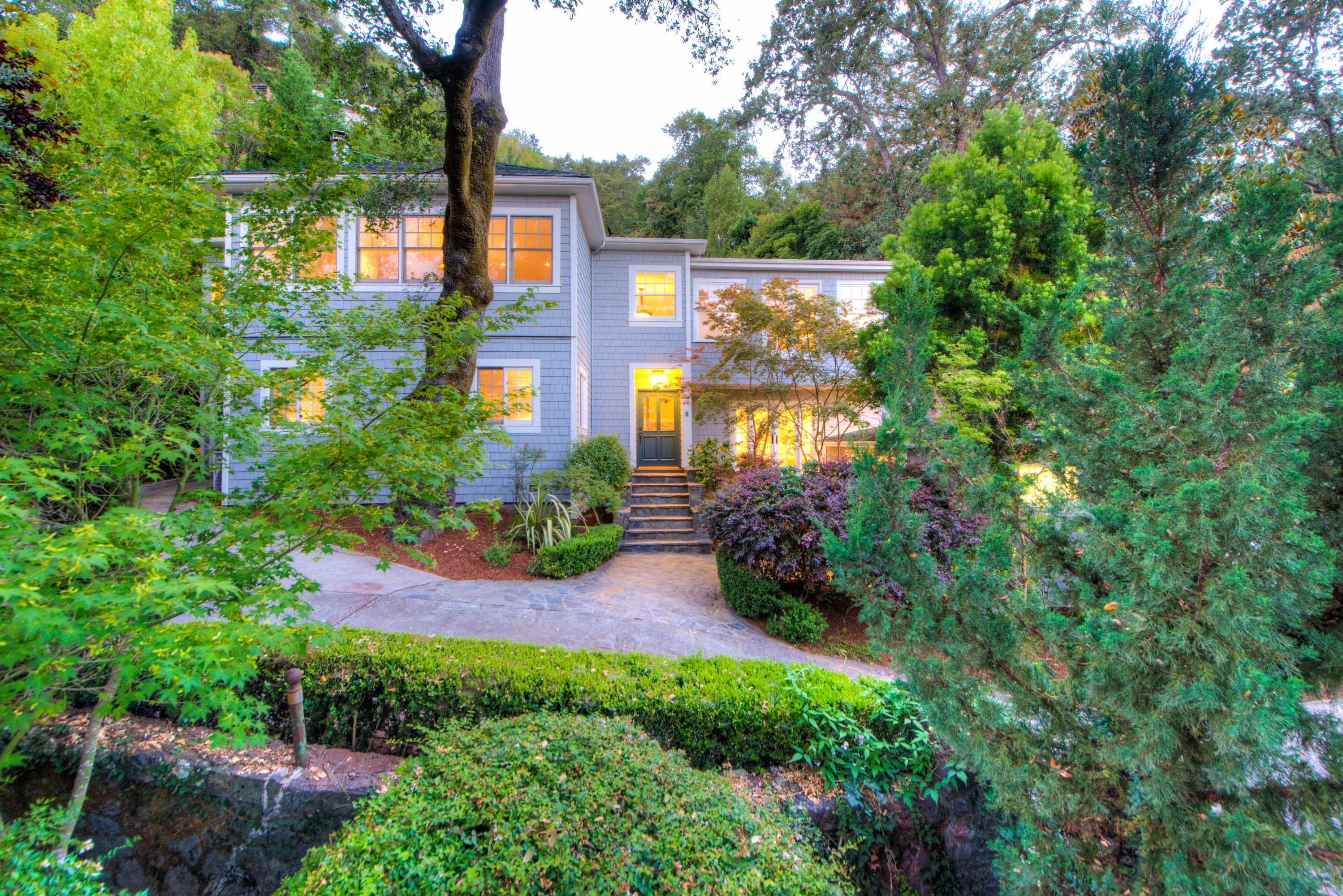 Single Family Home for Sale at Spectacular Vintage Home Beautifully Renovated for Today's Modern Living 2 Foothill Road San Anselmo, California 94960 United States
