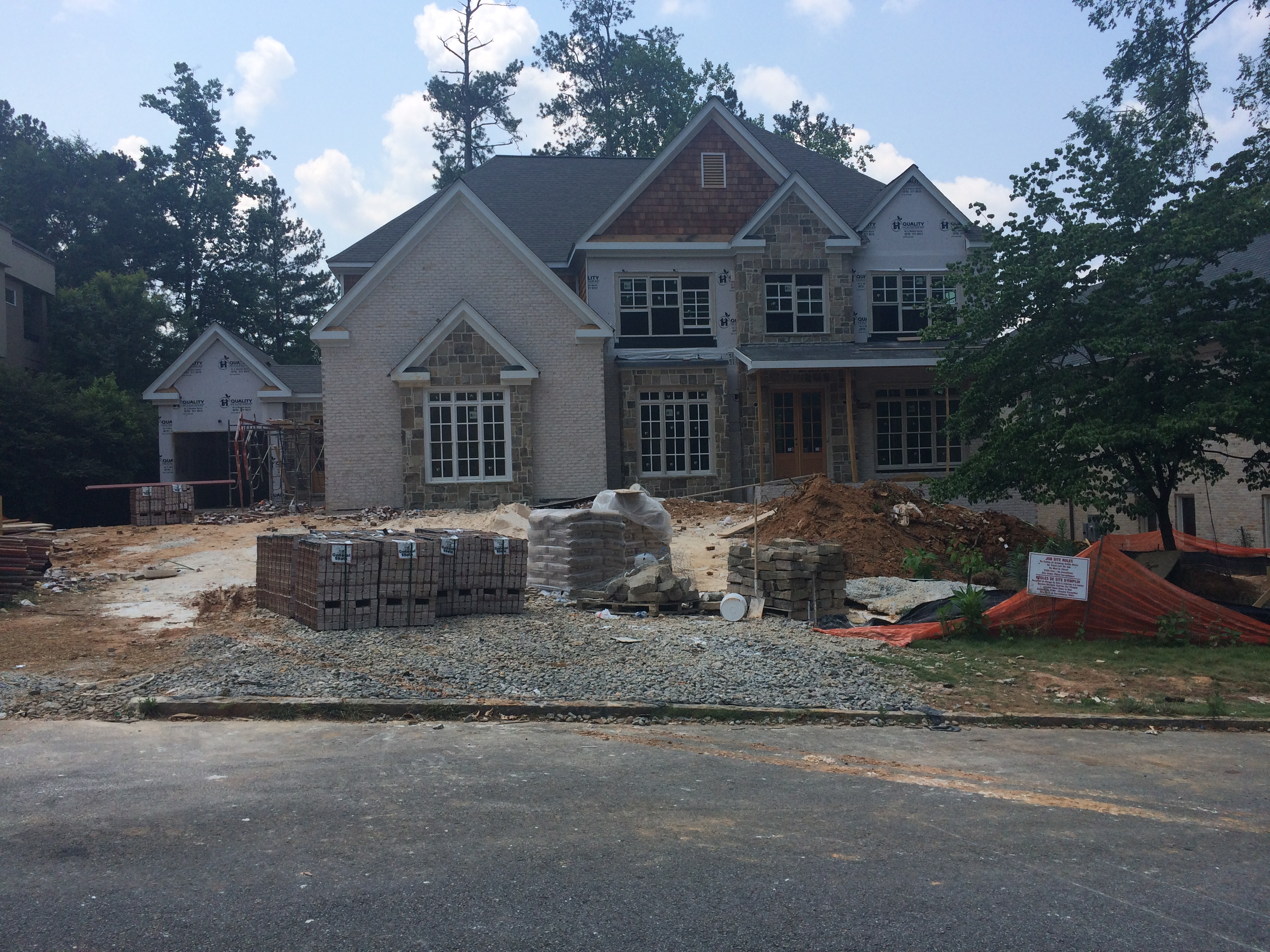 sales property at Custom Home Under Construction