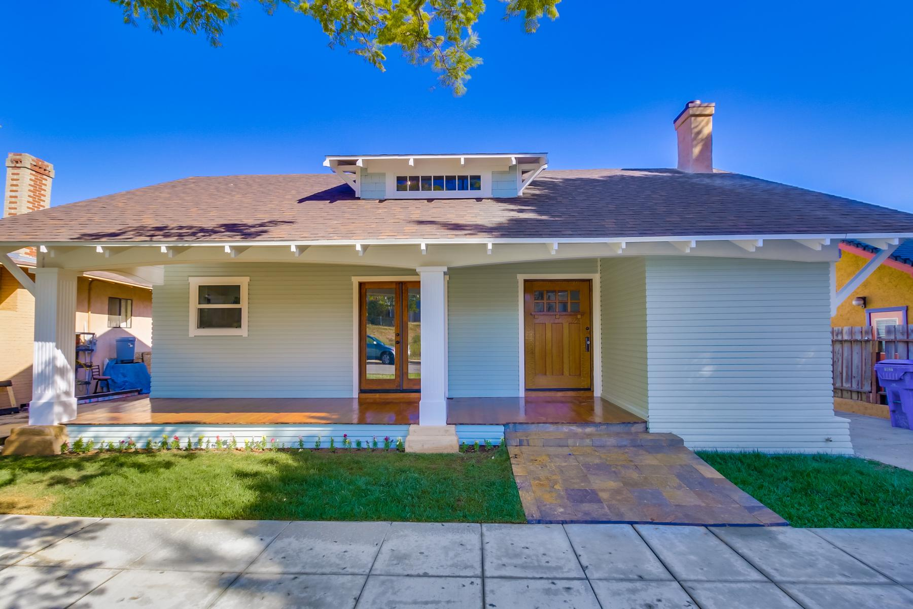 Single Family Home for Sale at 1827 Bancroft Street South Park, San Diego, California 92102 United States