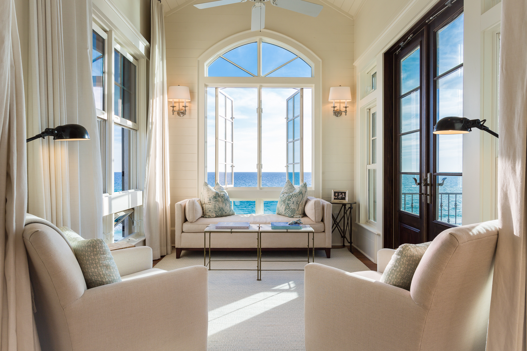 Single Family Home for Sale at TIMELESS AESTHETIC BRILLIANTLY DESIGNED WITH BREATHTAKING VIEWS IN MIND 76 E Saint Lucia Lane Santa Rosa Beach, Florida, 32459 United States
