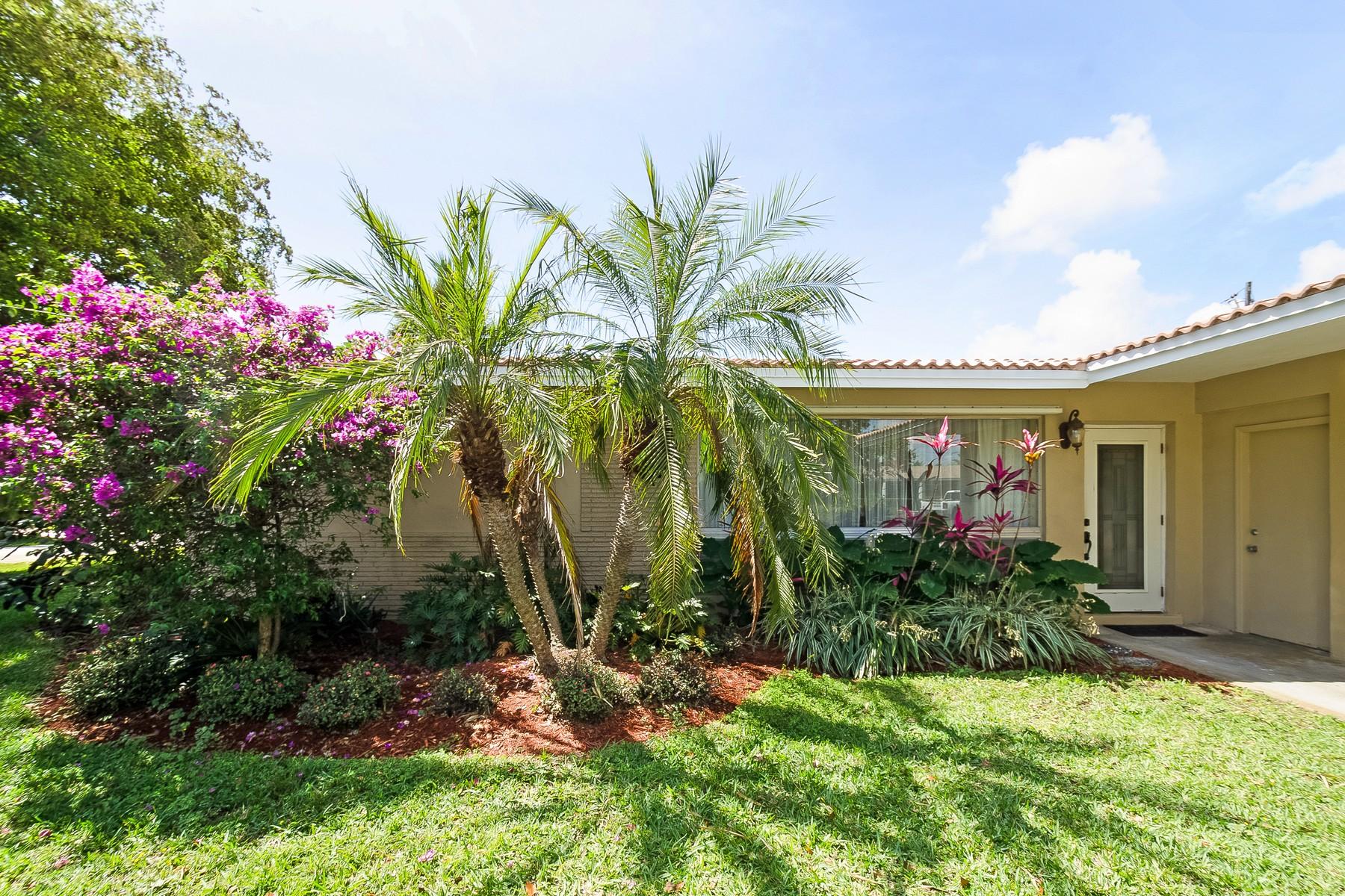 Casa Unifamiliar por un Venta en 1598 NE 48 Ct. Oakland Park, Florida 33334 Estados Unidos
