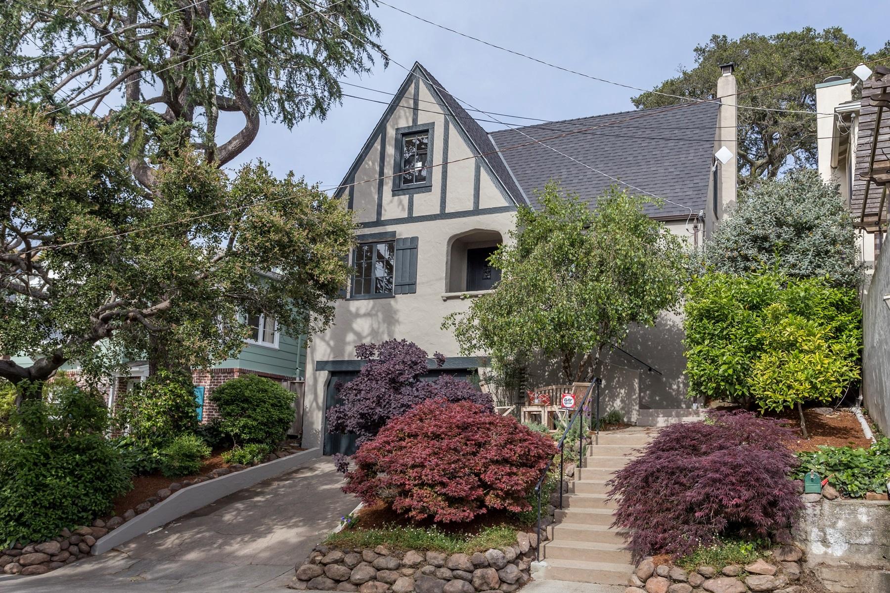 sales property at Upper Rockridge English Storybook Home