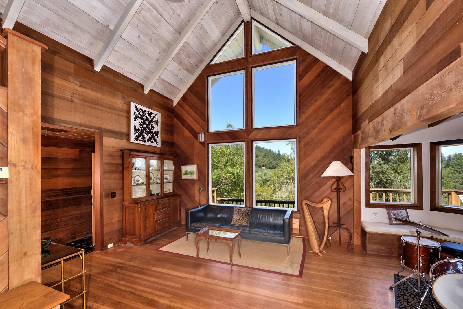 一戸建て のために 売買 アット 1040 Felta Road Healdsburg, カリフォルニア, 95448 アメリカ合衆国