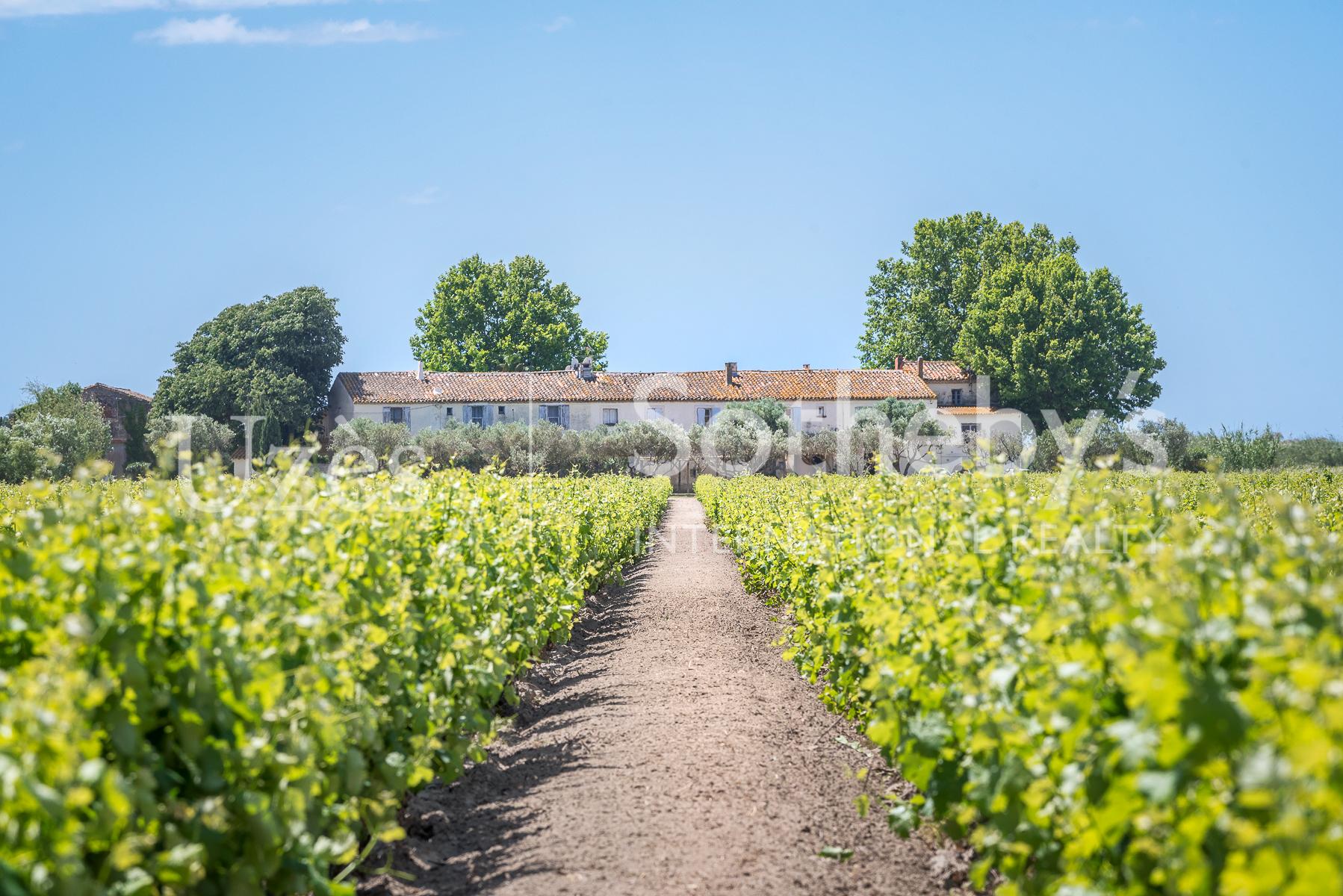 Single Family Home for Sale at Une propriété unique à quelques minutes d'Aigues-Mortes Other Languedoc-Roussillon, Languedoc-Roussillon France