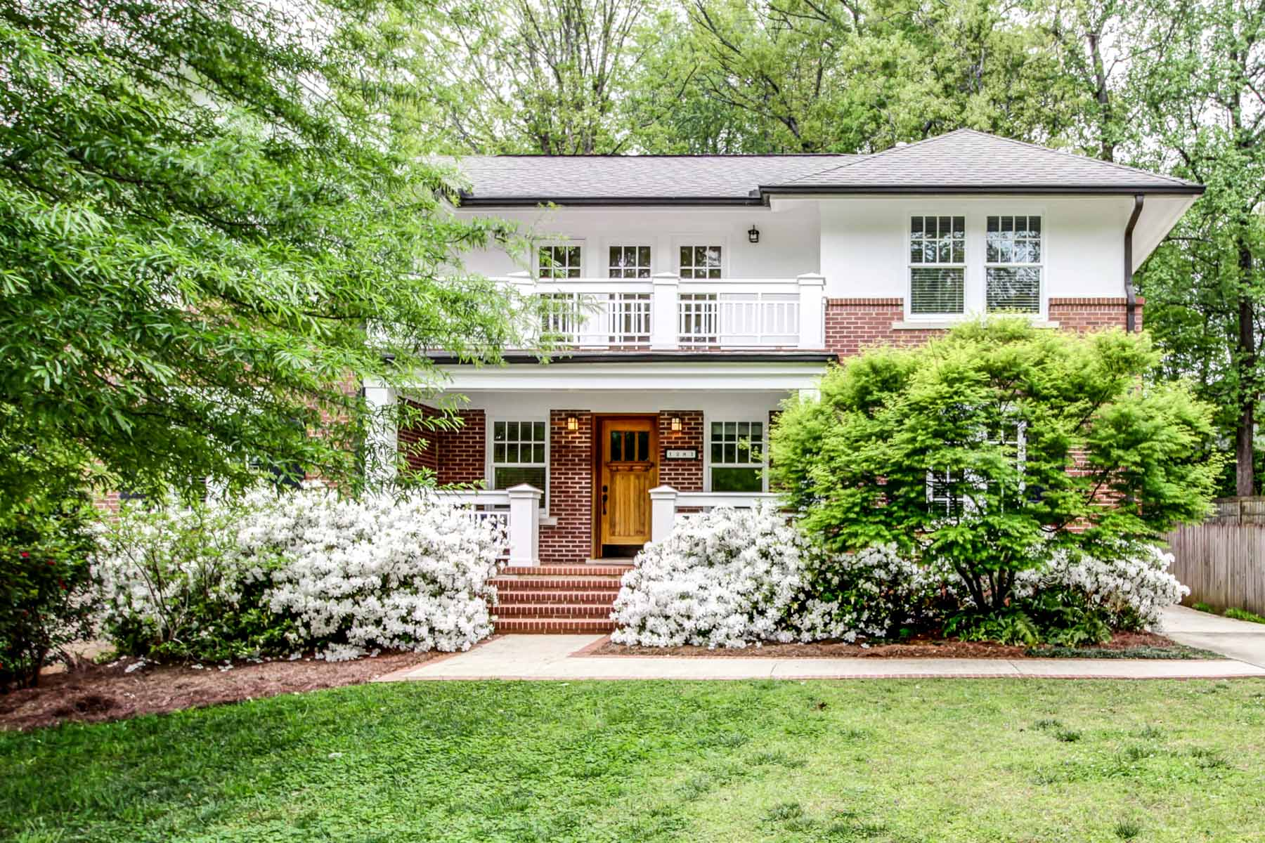 Single Family Home for Sale at Live like you are on vacation! 1281 Briardale Lane NE Druid Hills, Atlanta, Georgia, 30306 United States