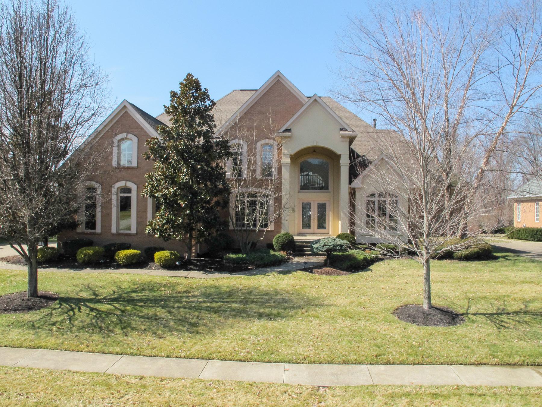 Maison unifamiliale pour l Vente à 7416 Wycliffe Drive Prospect, Kentucky 40059 États-Unis