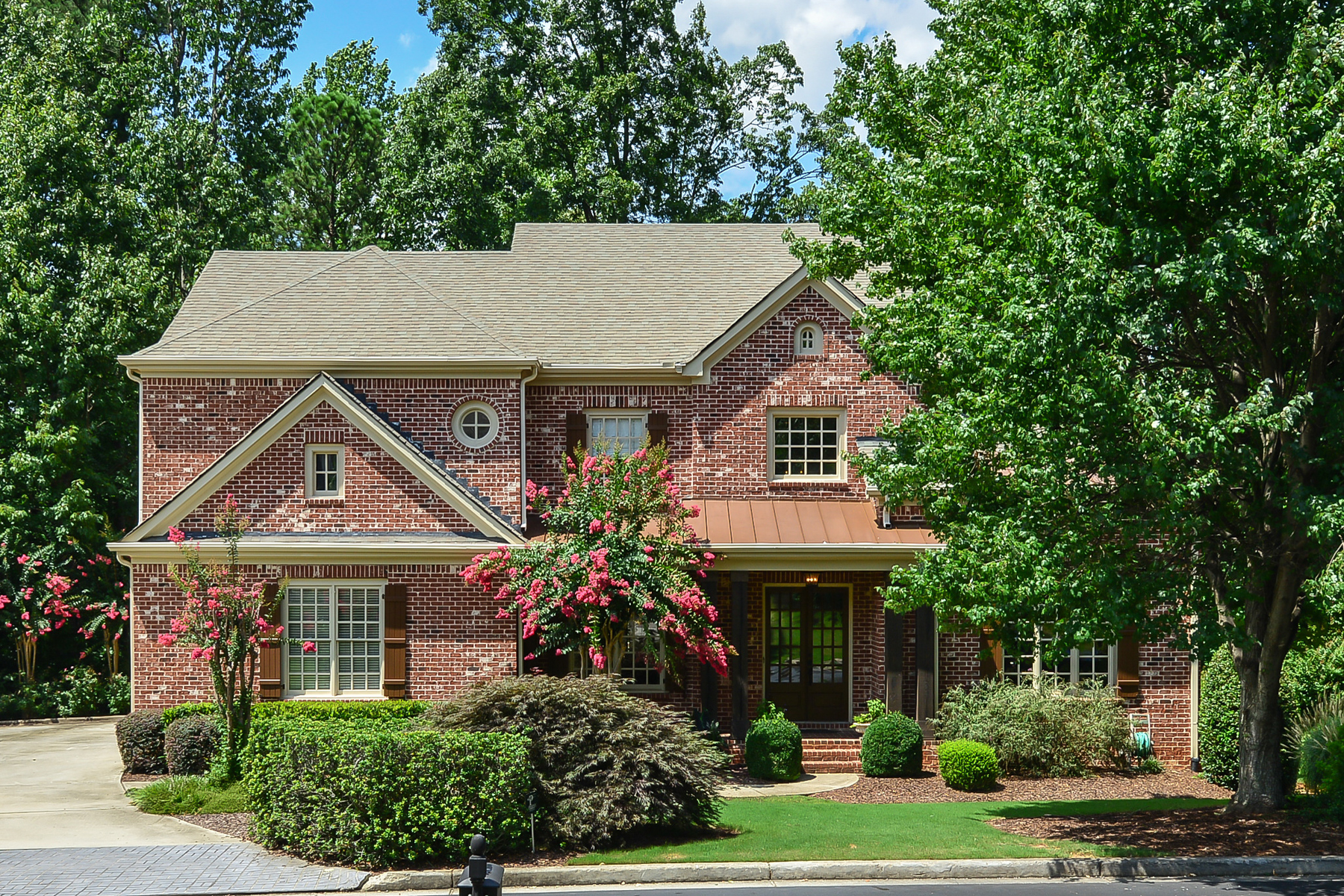 Single Family Home for Sale at Family Home On A Gated Cul-de-sac Street 245 Lake Summit View Atlanta, Georgia, 30342 United States