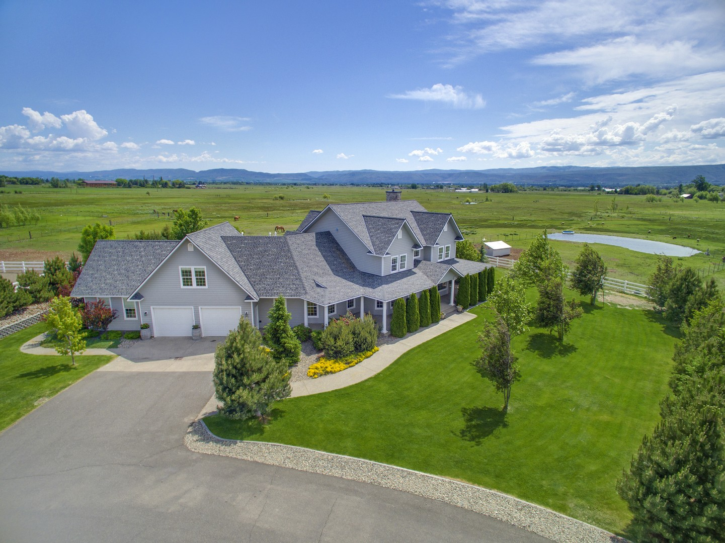 Moradia para Venda às Creek View Farm 444 Buckboard Lane Ellensburg, Washington, 98926 Estados Unidos