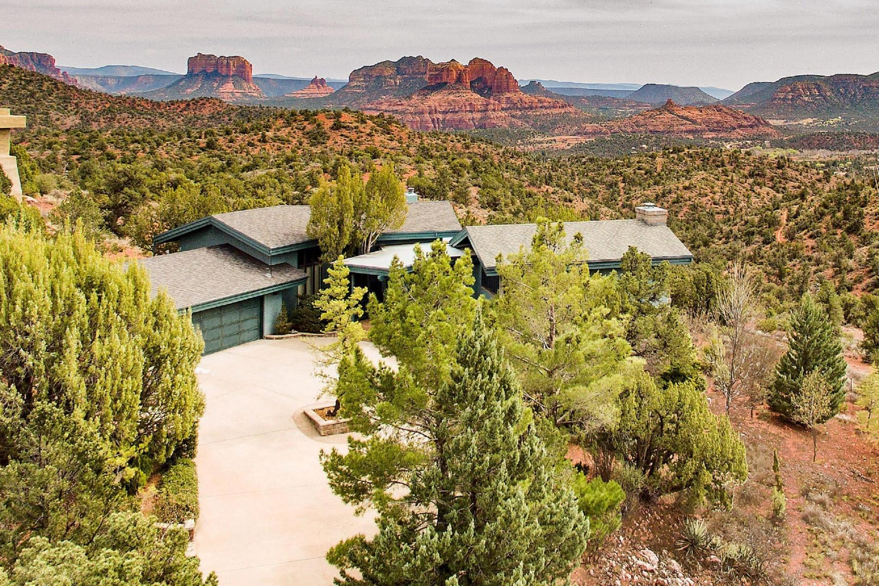 Maison unifamiliale pour l Vente à Charming Sedona home with amazing views 3223 Calle Del Montana Sedona, Arizona, 86336 États-Unis