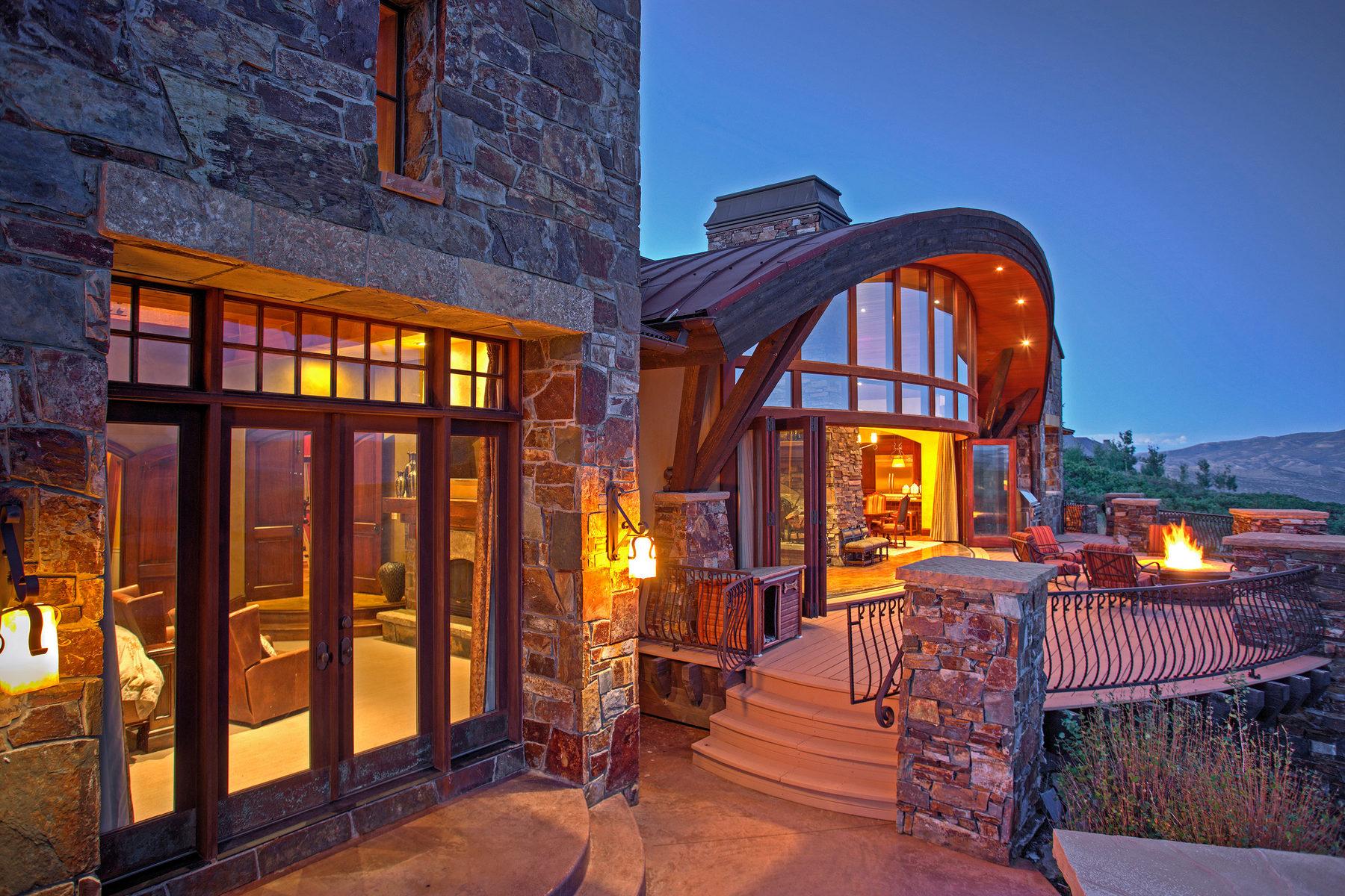 Vivienda unifamiliar por un Venta en One of Promontory's Most Beautiful Homes 3780 E Rockport Ridge Rd Park City, Utah, 84098 Estados Unidos