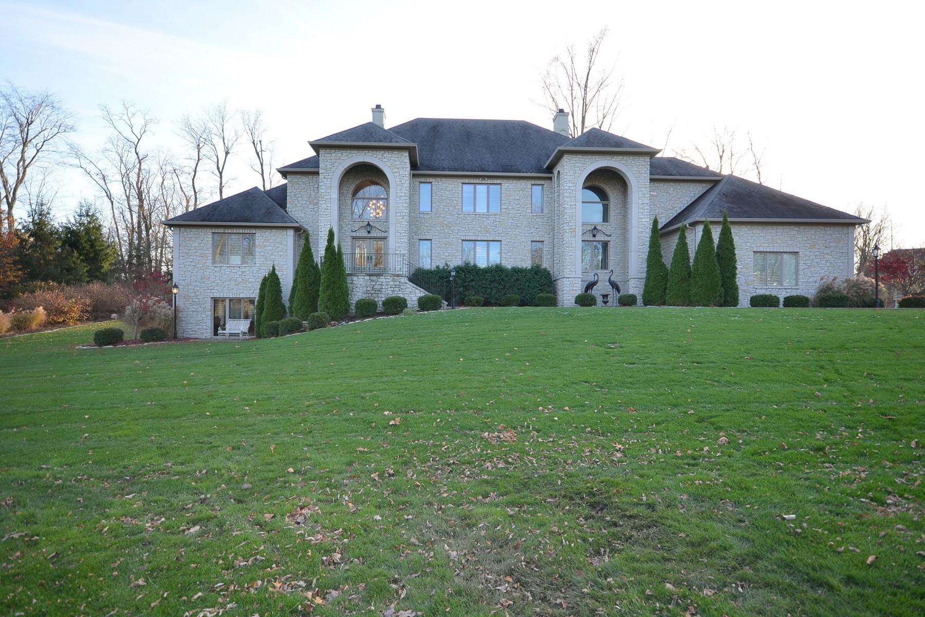 Maison unifamiliale pour l Vente à Incredible Home on 1.42 Acres 410 Breakwater Drive Fishers, Indiana, 46037 États-Unis