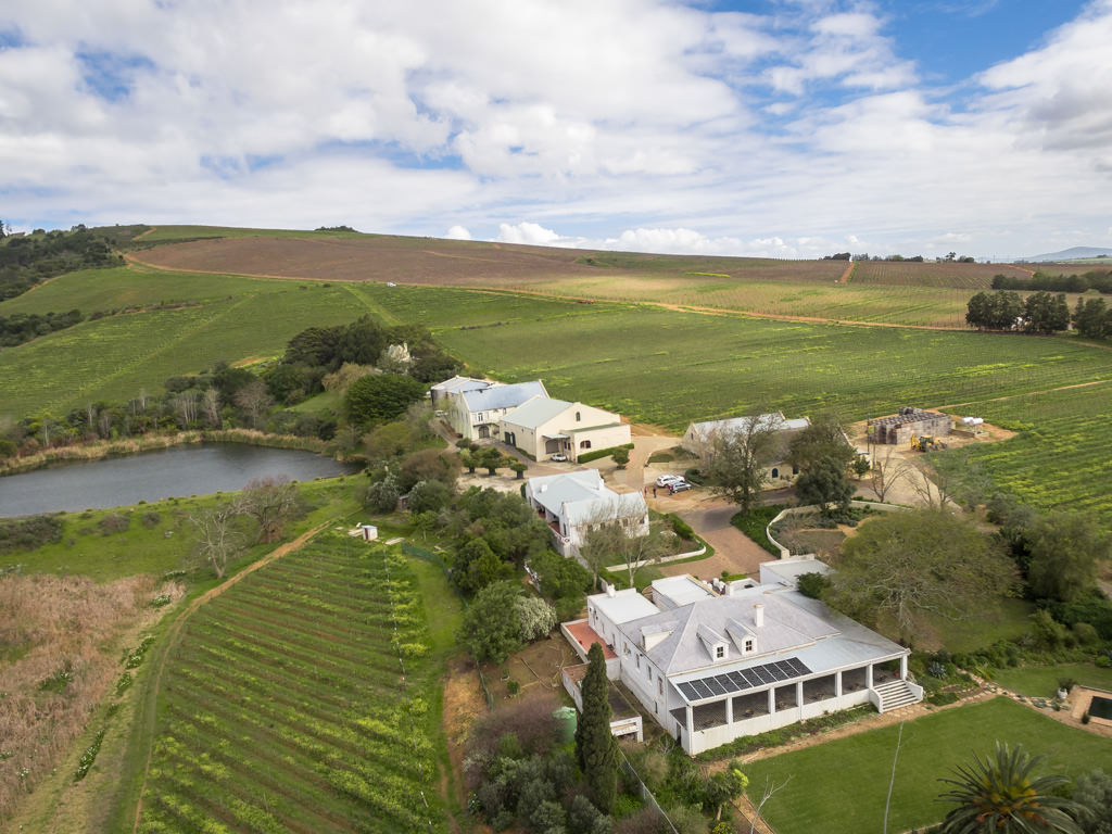 sales property at Award Winning Stellenbosch Wine Farm