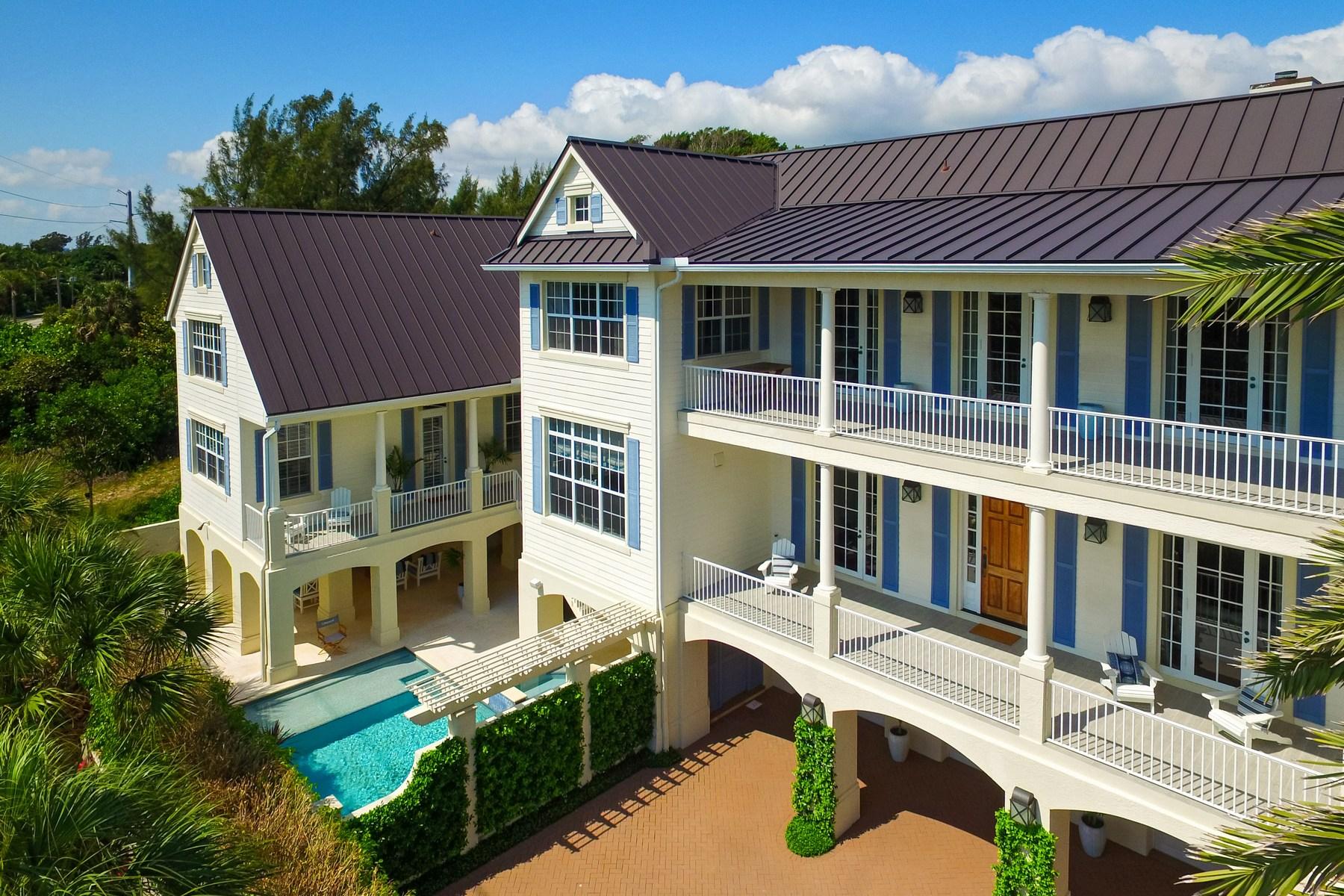 独户住宅 为 销售 在 410 Old Towne Lane 朱诺海滩, 佛罗里达州, 33408 美国