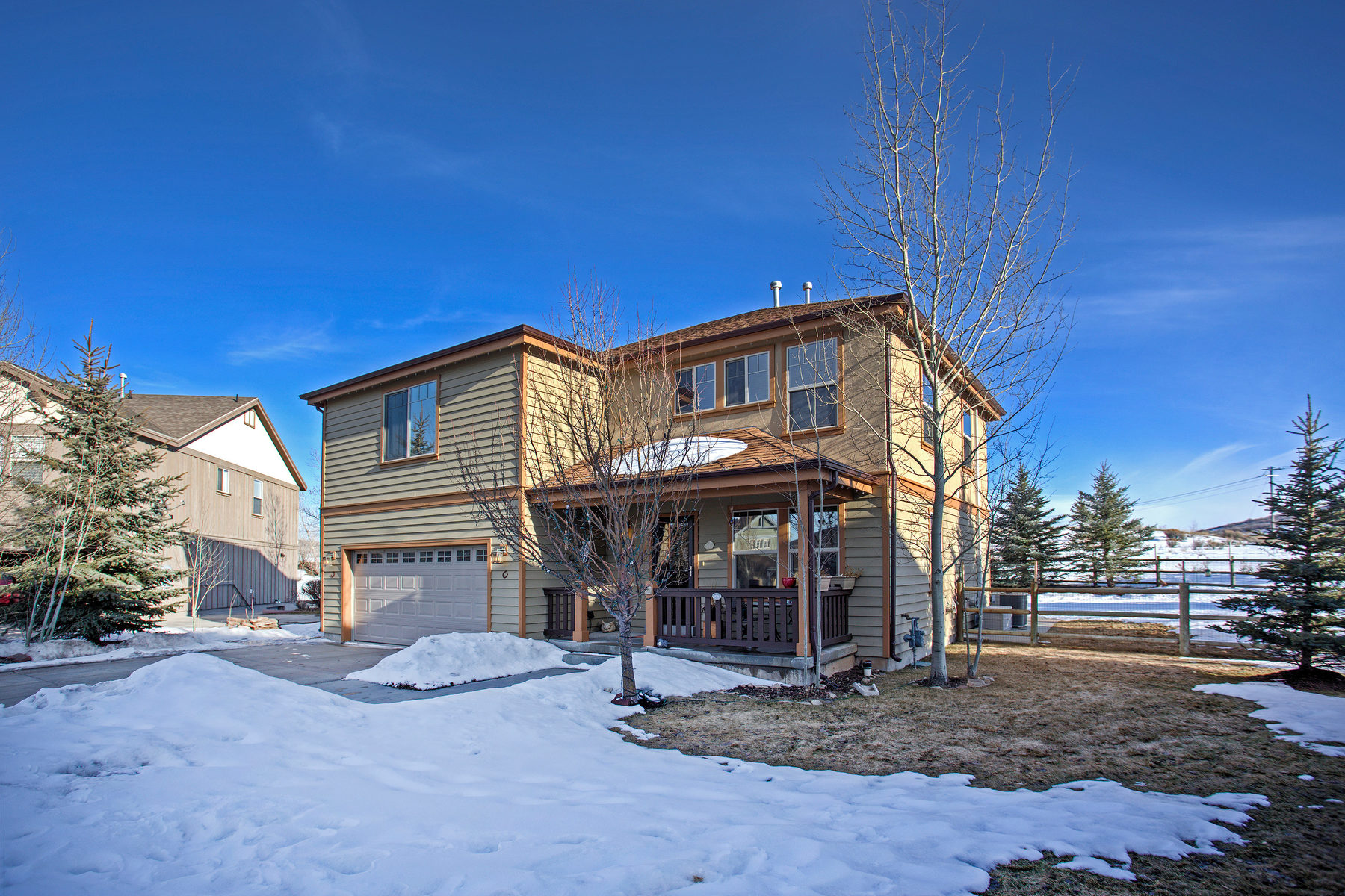 Single Family Home for Sale at Mountain Views with Direct Access to Round Valley Trail System 980 Mountain Willow Ln Park City, Utah, 84098 United States