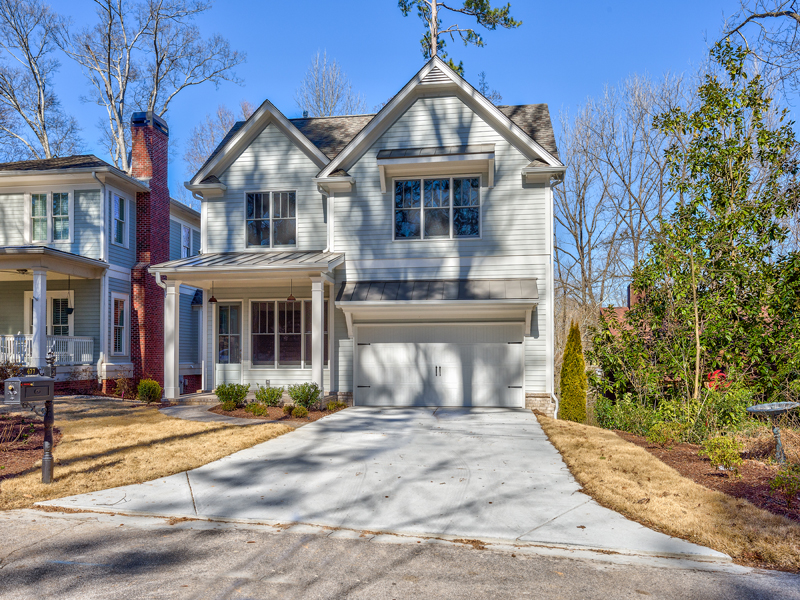 Single Family Home for Active at New Construction In Collier Hills 477 Overbrook Drive Atlanta, Georgia 30318 United States
