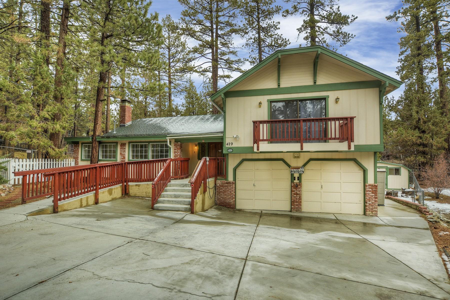 獨棟家庭住宅 為 出售 在 429 Crater Lake Big Bear Lake, 加利福尼亞州, 92315 美國