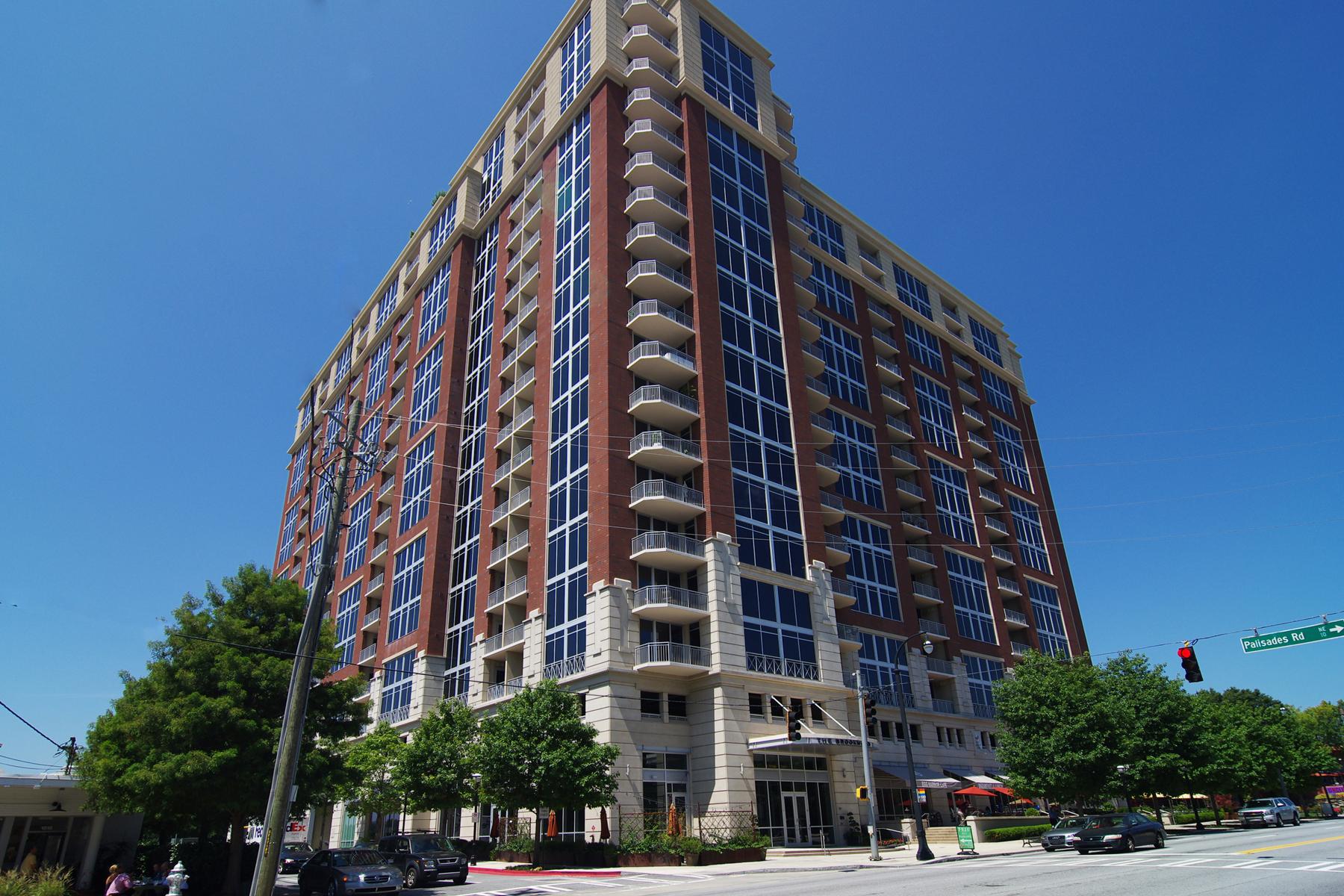 Eigentumswohnung für Verkauf beim Stunning Design Features 1820 Peachtree Street NW Unit 611 Atlanta, Georgia, 30309 Vereinigte Staaten