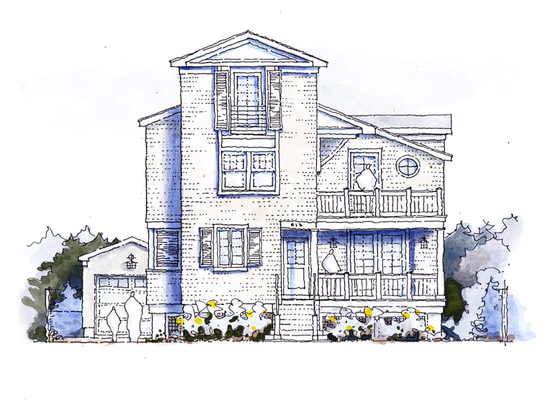 단독 가정 주택 용 매매 에 Exquisite Design And Architecture 813 Main Avenue Bay Head, 뉴저지 08742 미국