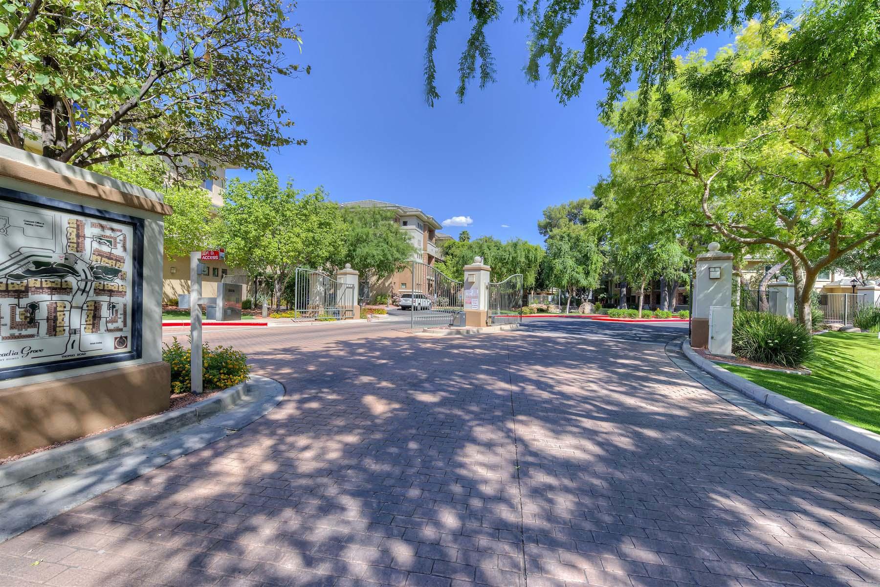 Apartment for Sale at Mid-rise condo living in Arcadia Grove Condominiums. 4488 E THOMAS RD #3044 Phoenix, Arizona 85018 United States