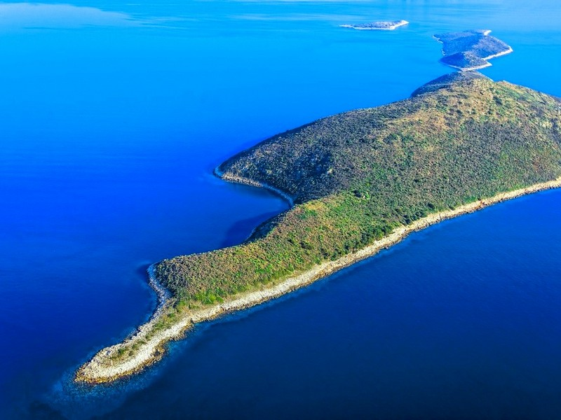 sales property at 247 Acres Private Island in Ionian Sea