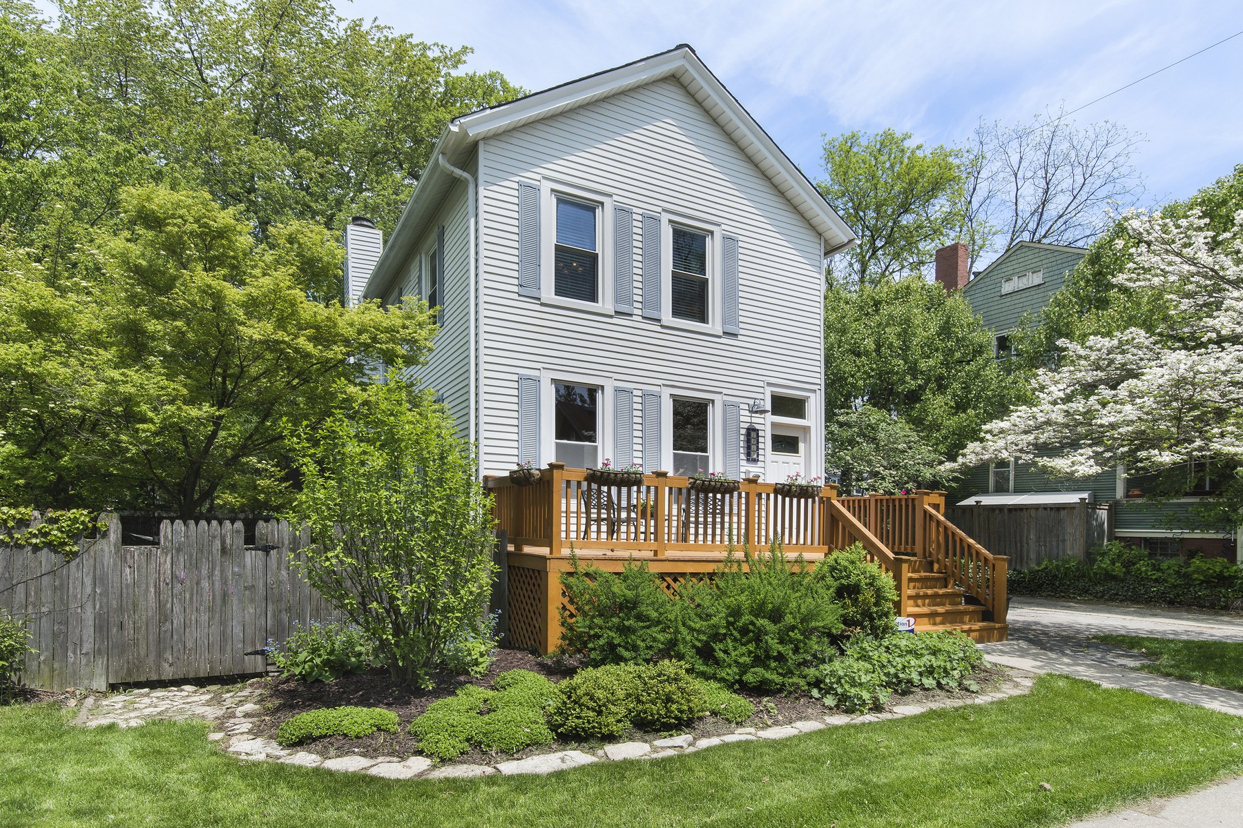 sales property at Storybook Victorian Farmhouse In Downtown Evanston Location