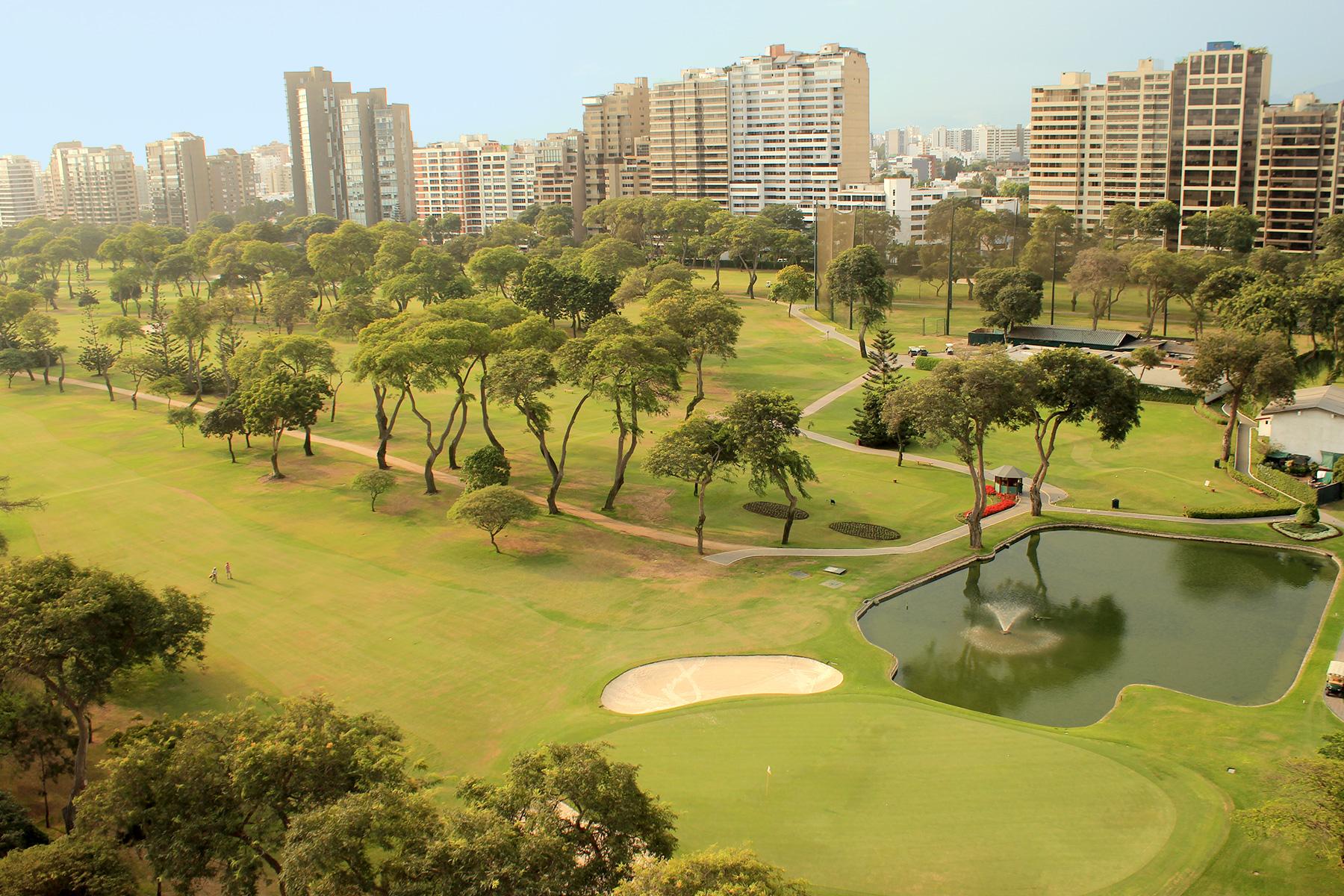 Apartment for Sale at Lujoso departamento Frente al golf en Exclusivo Edificio Av. Juan Antonio Pezet San Isidro, Lima, 27 Peru