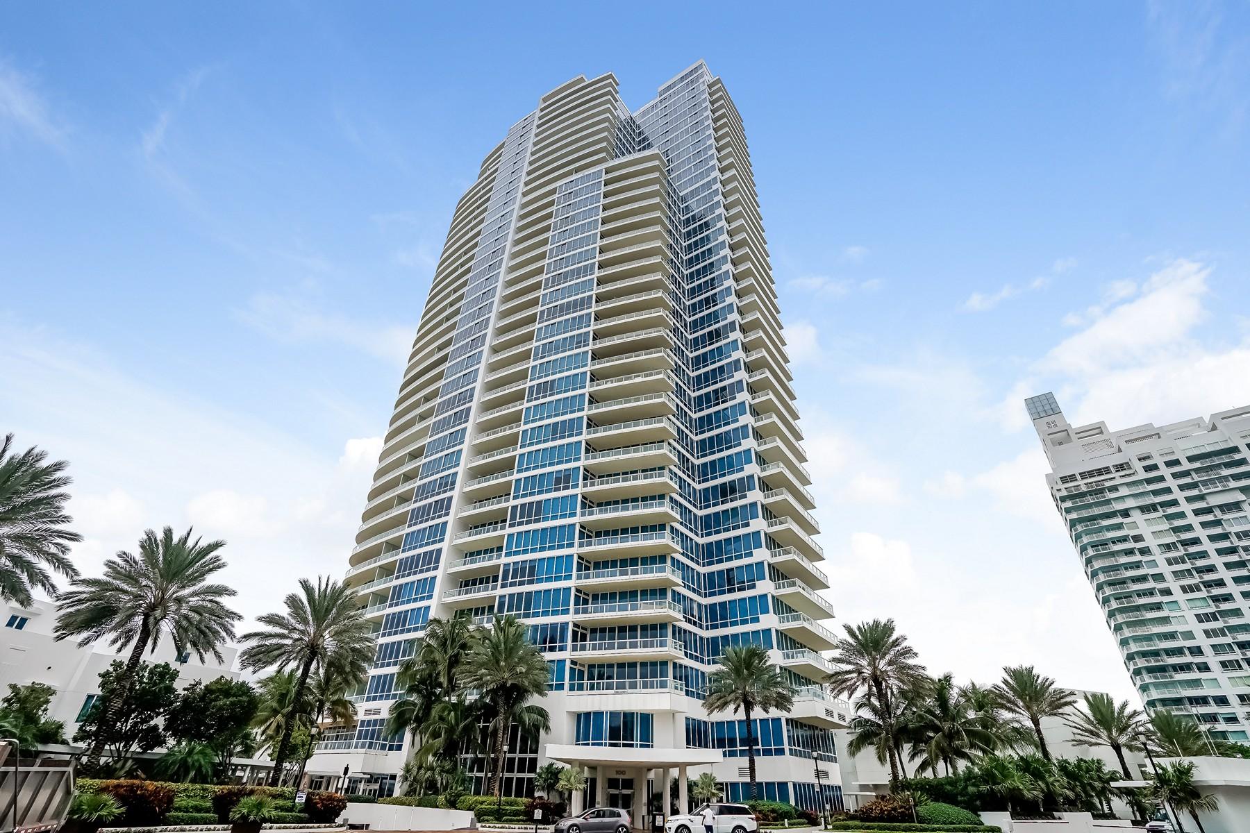 Eigentumswohnung für Verkauf beim 100 S Pointe Dr #510 Miami Beach, Florida 33139 Vereinigte Staaten