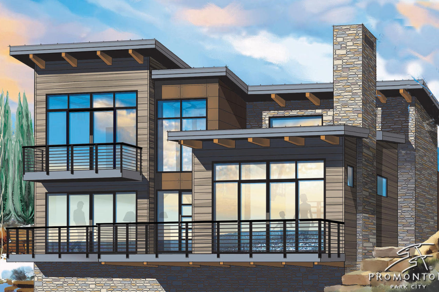 Moradia para Venda às New Nicklaus Golf Cabin Promontory 6482 Golden Bear Lp W Park City, Utah 84098 Estados Unidos