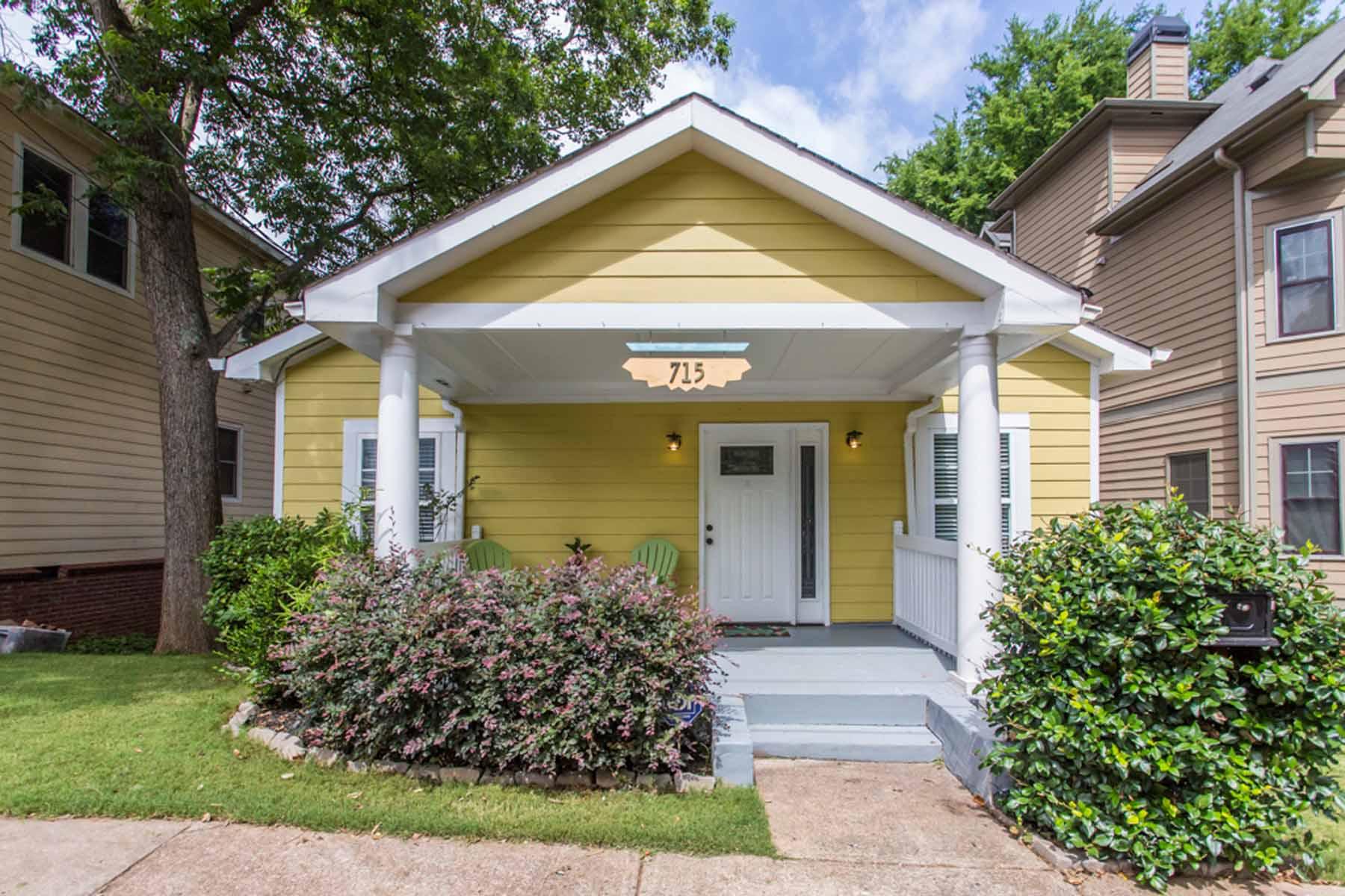 一戸建て のために 売買 アット Sweet Grant Park Craftsman 715 Woodson Street SE Grant Park, Atlanta, ジョージア, 30315 アメリカ合衆国