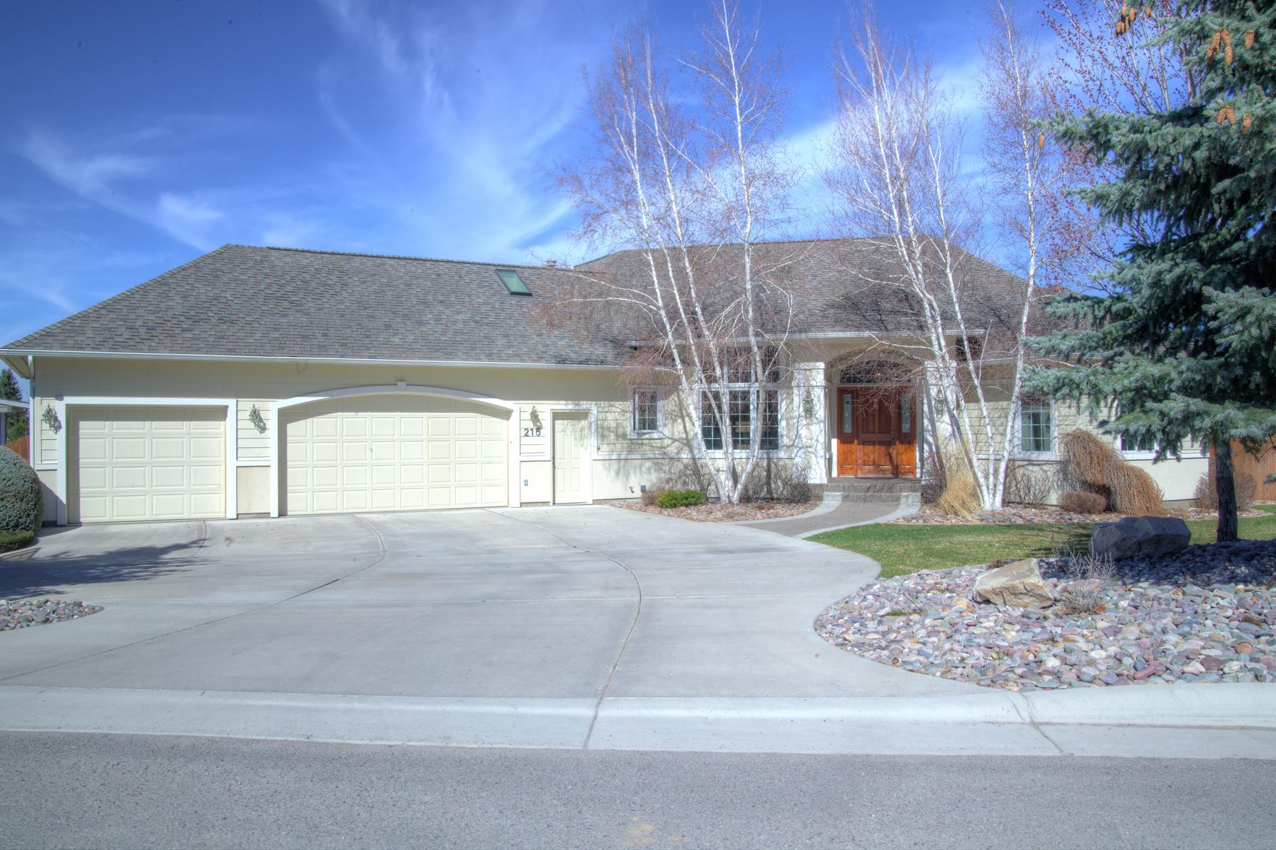 Casa para uma família para Venda às 215 E. Crestline Drive Missoula, Montana 59803 Estados Unidos