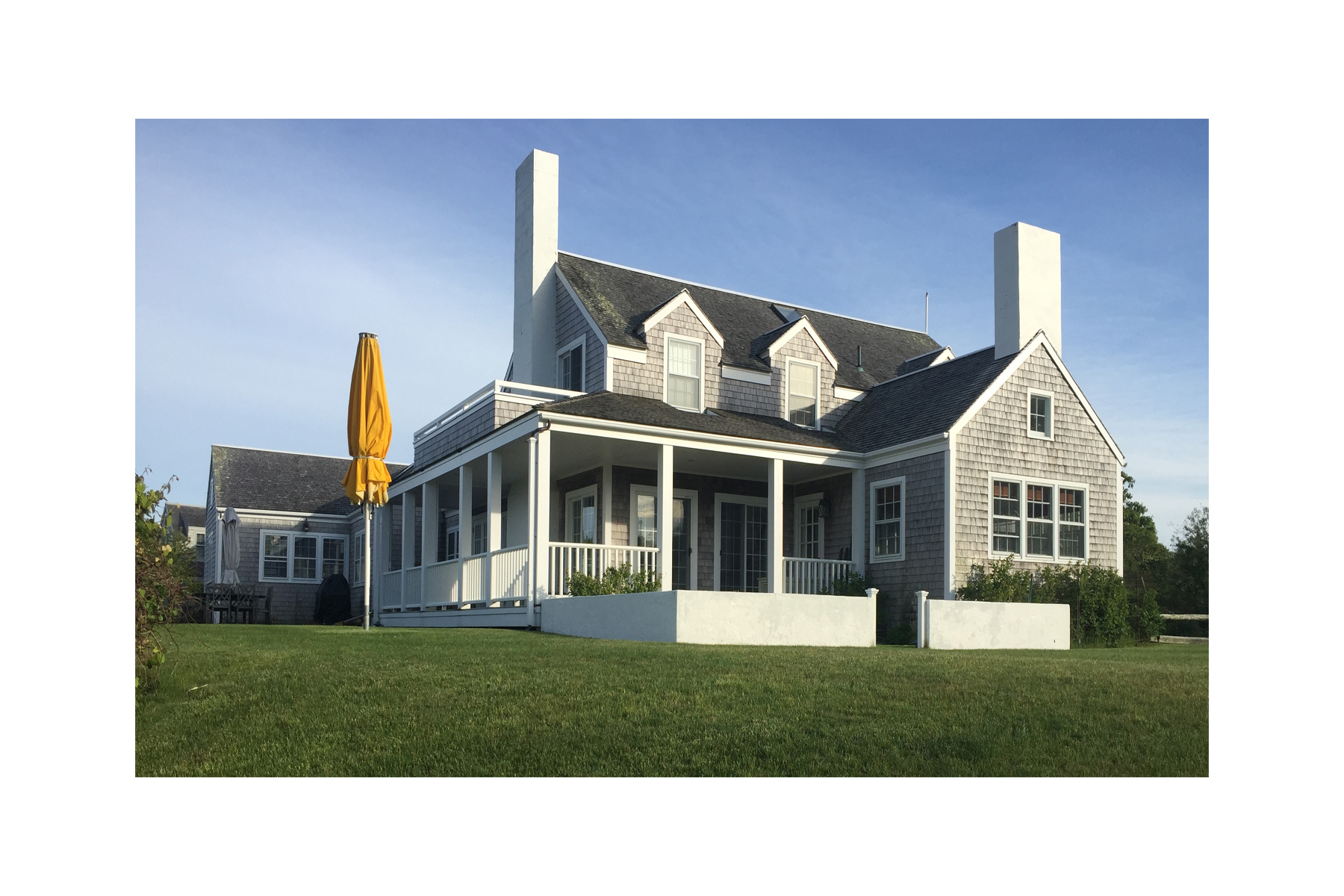 Single Family Home for Sale at West Polpis Harbor 222 Polpis Road Nantucket, Massachusetts 02554 United States