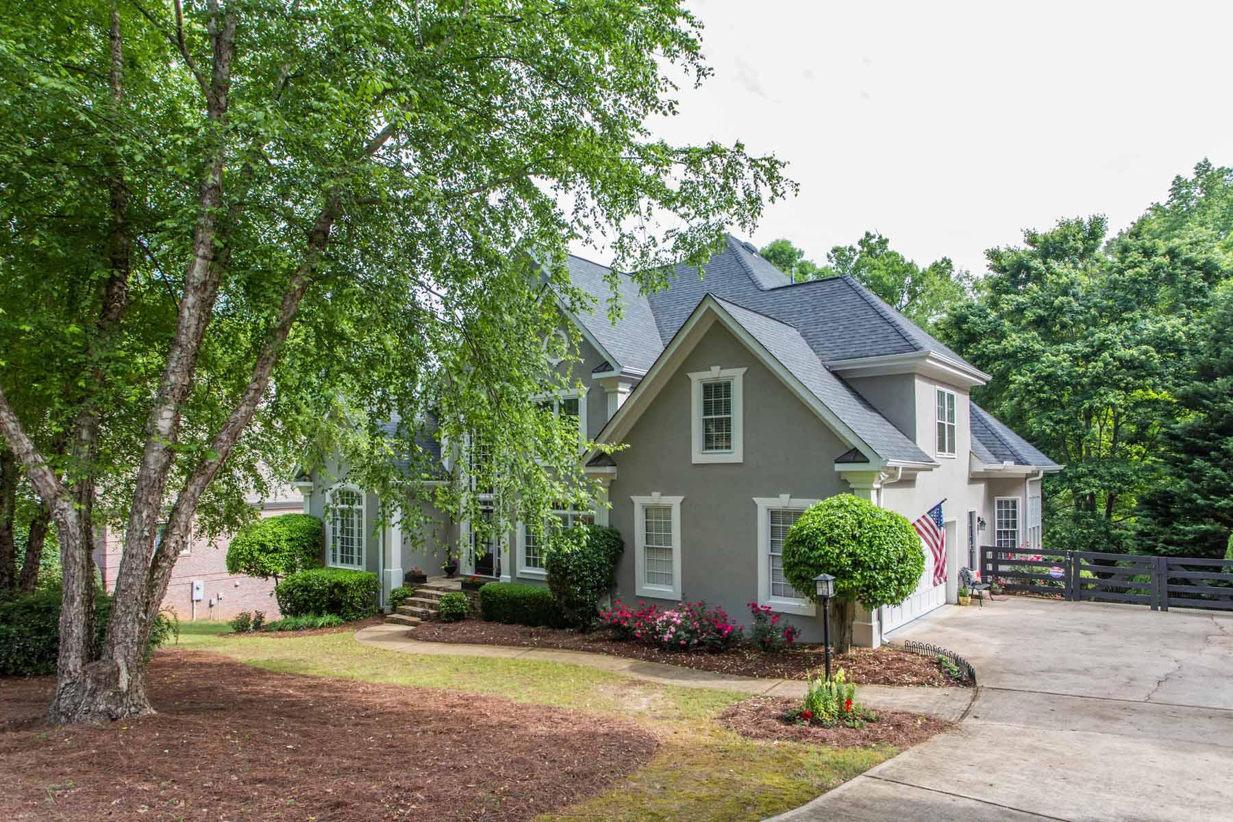 Einfamilienhaus für Verkauf beim Country Club Living 7130 Polo Hill Cumming, Georgia 30040 Vereinigte Staaten