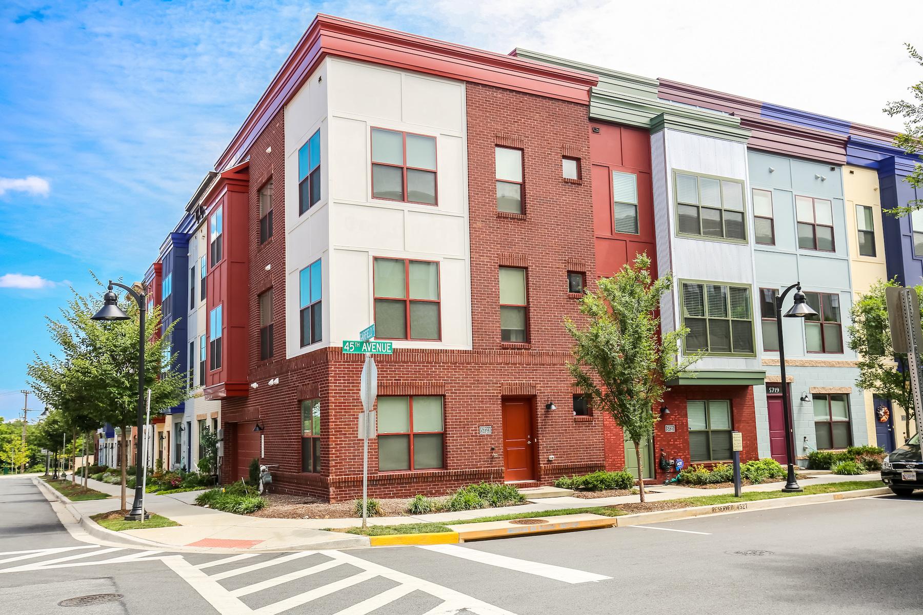 タウンハウス のために 賃貸 アット 5723 45th Avenue, Hyattsville Hyattsville, メリーランド 20781 アメリカ合衆国