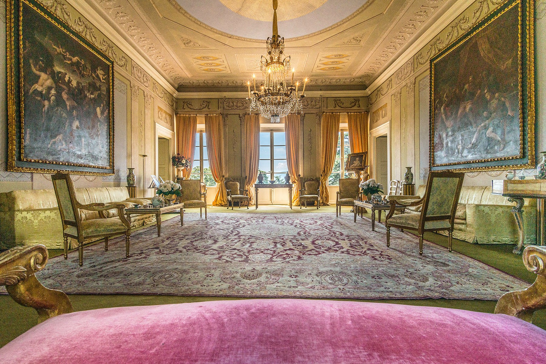 Vivienda unifamiliar por un Venta en Incomparable historic mansion Lucca, Lucca Italia