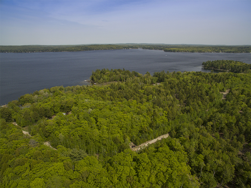 Land for Sale at Sebago Lake Waterfront 0 Rusty Road Raymond, Maine 04071 United States