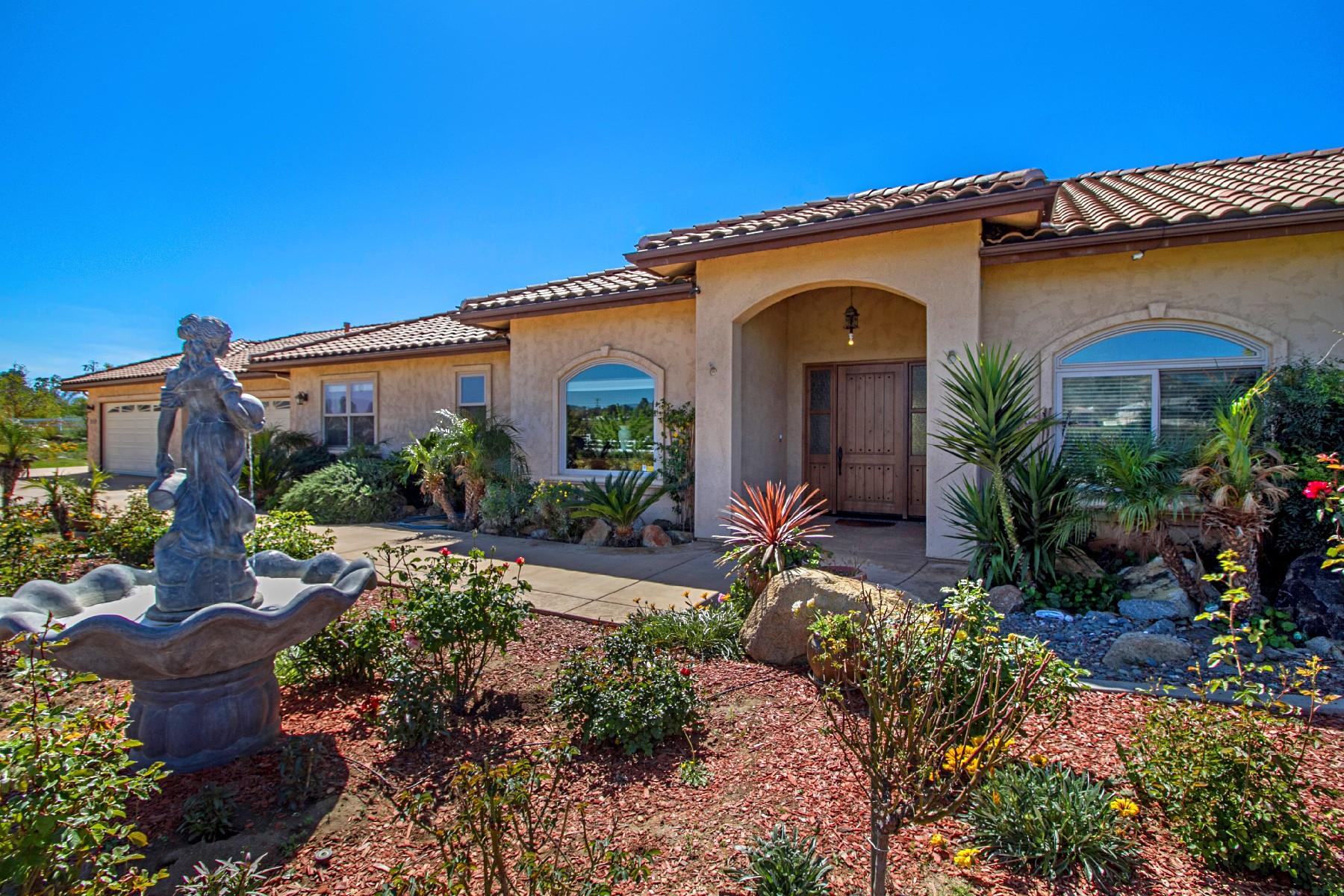 Maison unifamiliale pour l Vente à 958 Heritage Ranch Road Ramona, Californie, 92065 États-Unis