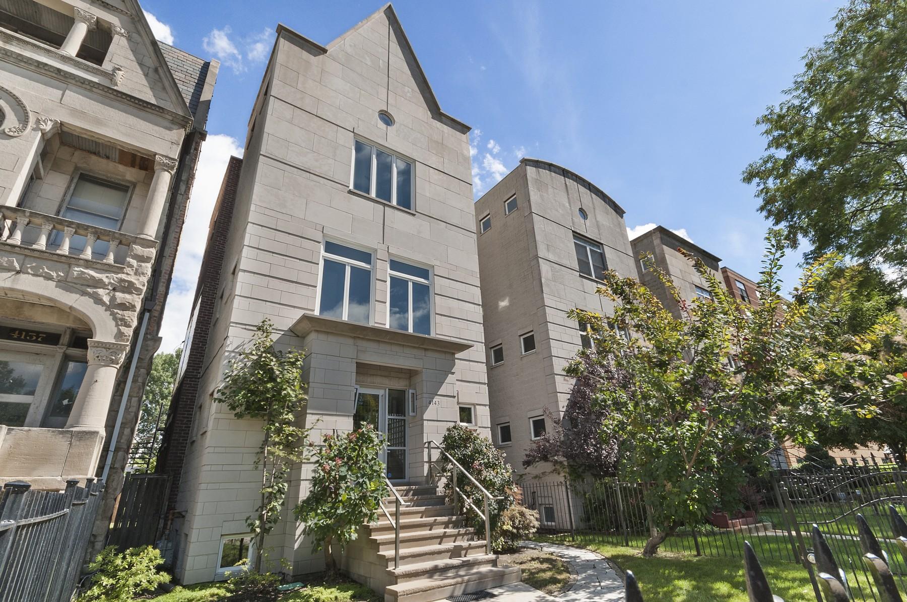 独户住宅 为 销售 在 Newly Remodeled Home 4143 S Drexel Boulevard Oakland, 芝加哥, 伊利诺斯州, 60653 美国