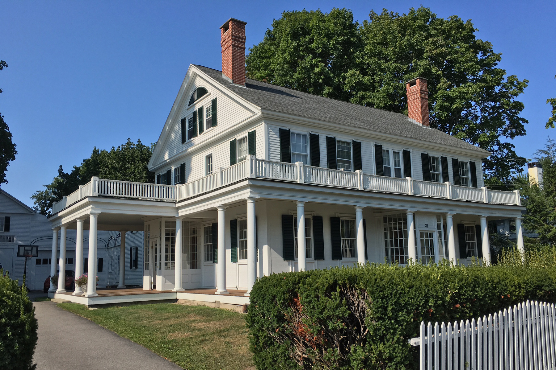 Single Family Home for Sale at Capt Ivory Lord House 31 Summer Street Kennebunk, Maine 04043 United States