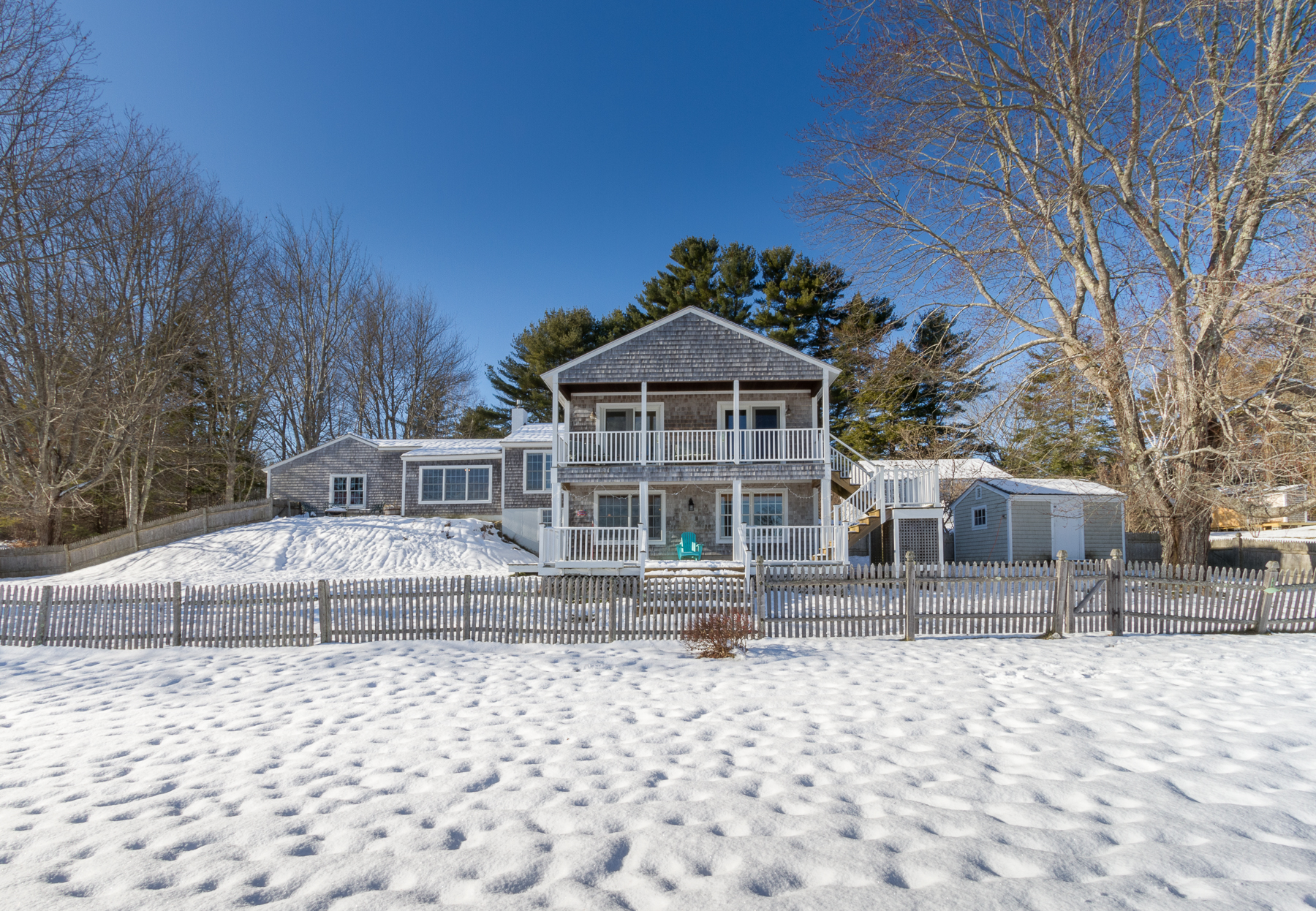 Single Family Home for Sale at Phipps Point 120 Phipps Point Road Woolwich, Maine, 04579 United States