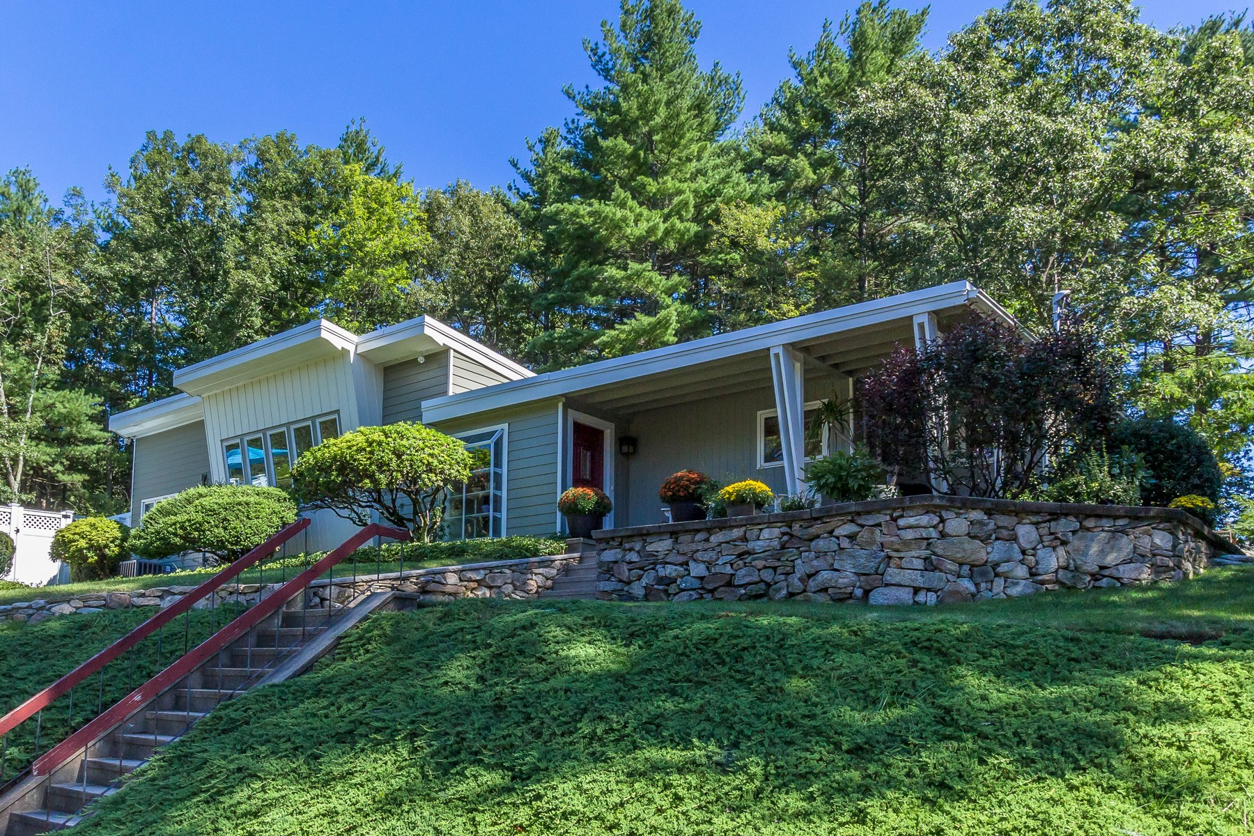 Property For Sale at Stunning Frank Lloyd Wright Inspired Contemporary Home