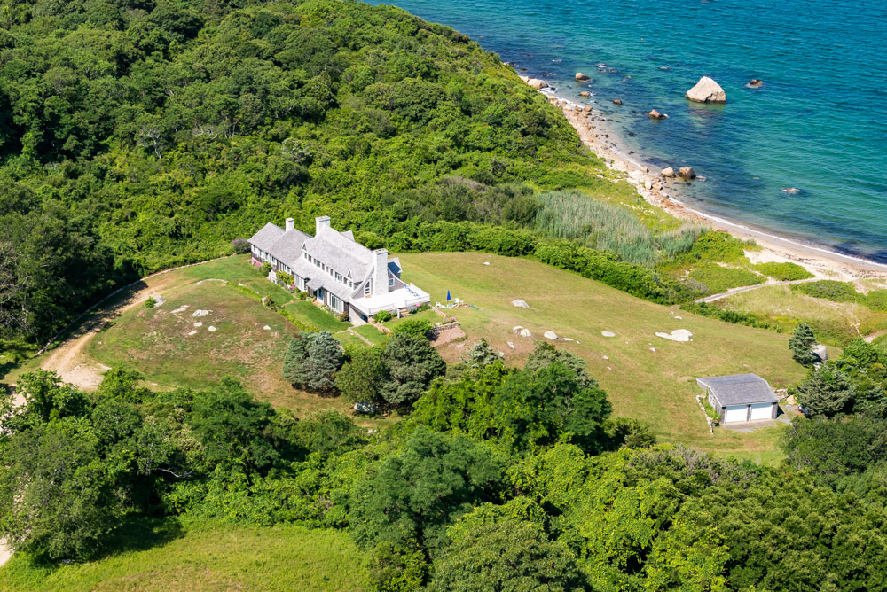 Single Family Home for Sale at Chilmark Waterfront with Breathtaking Views 35 Harlocks Pond Road Chilmark, Massachusetts, 02353 United States