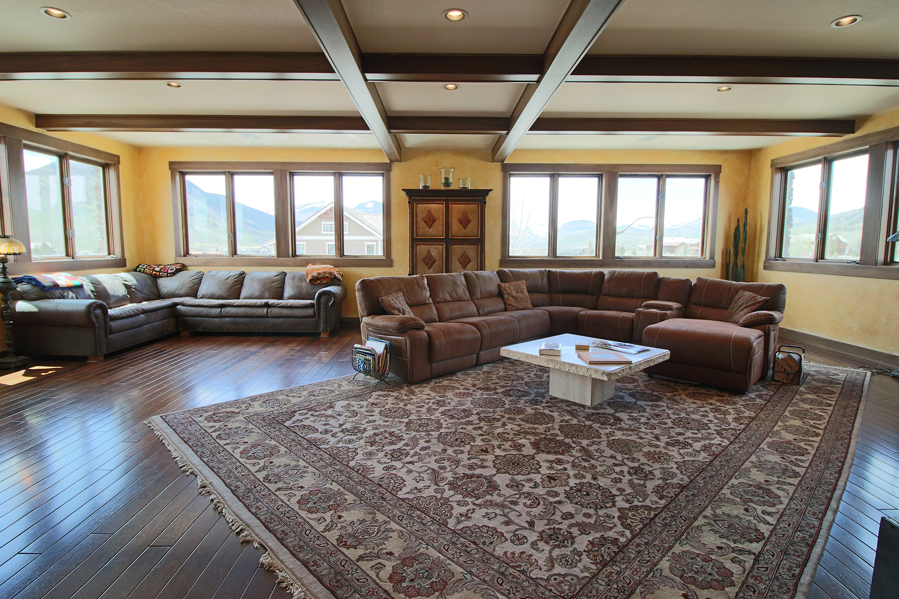 Single Family Home for Sale at Majestic Home 544 Larkspur Loop Crested Butte, Colorado, 81224 United States