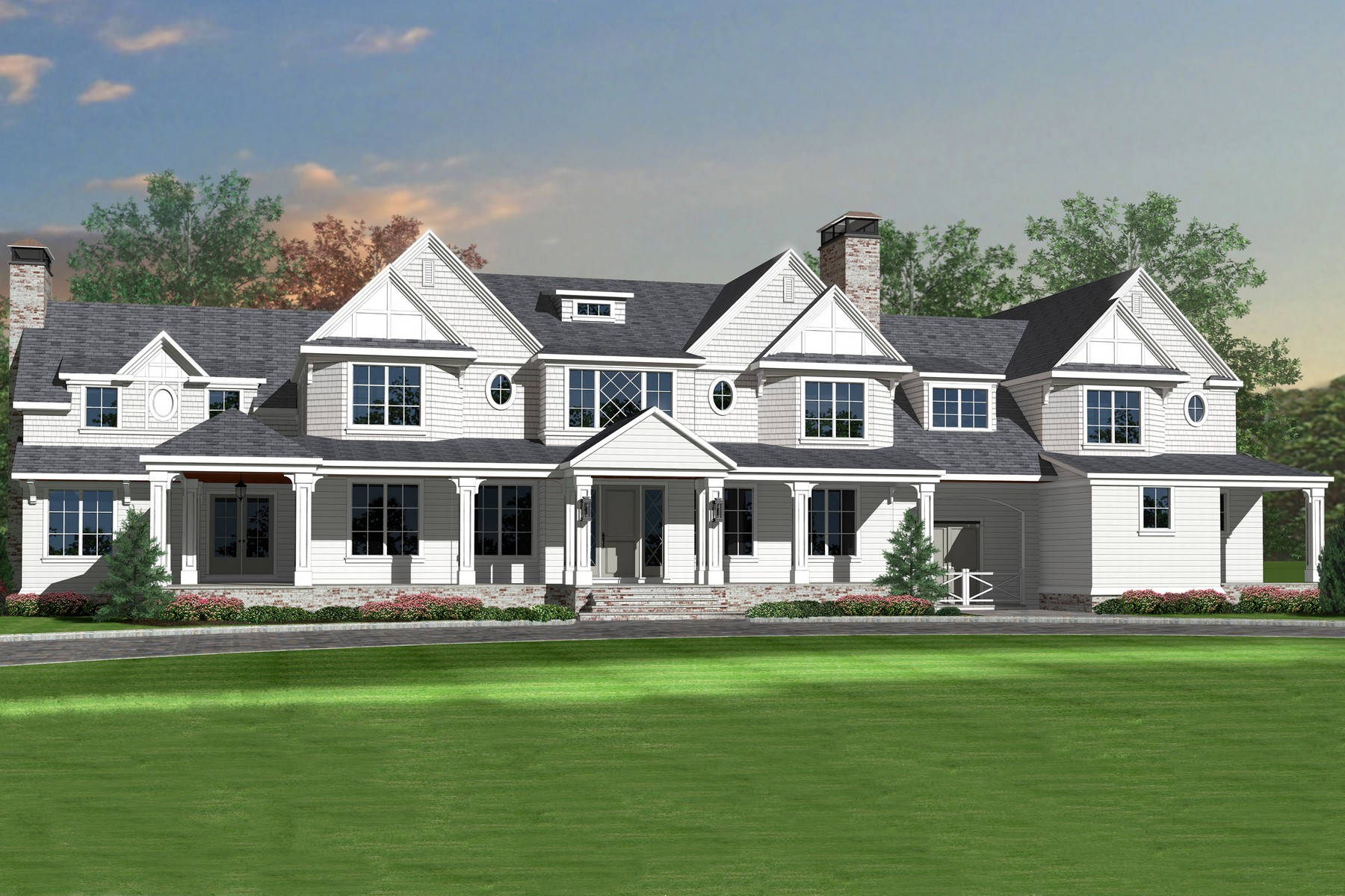 Single Family Home for Sale at The Art of Distinction 20 Conover Ln Rumson, New Jersey, 07760 United States