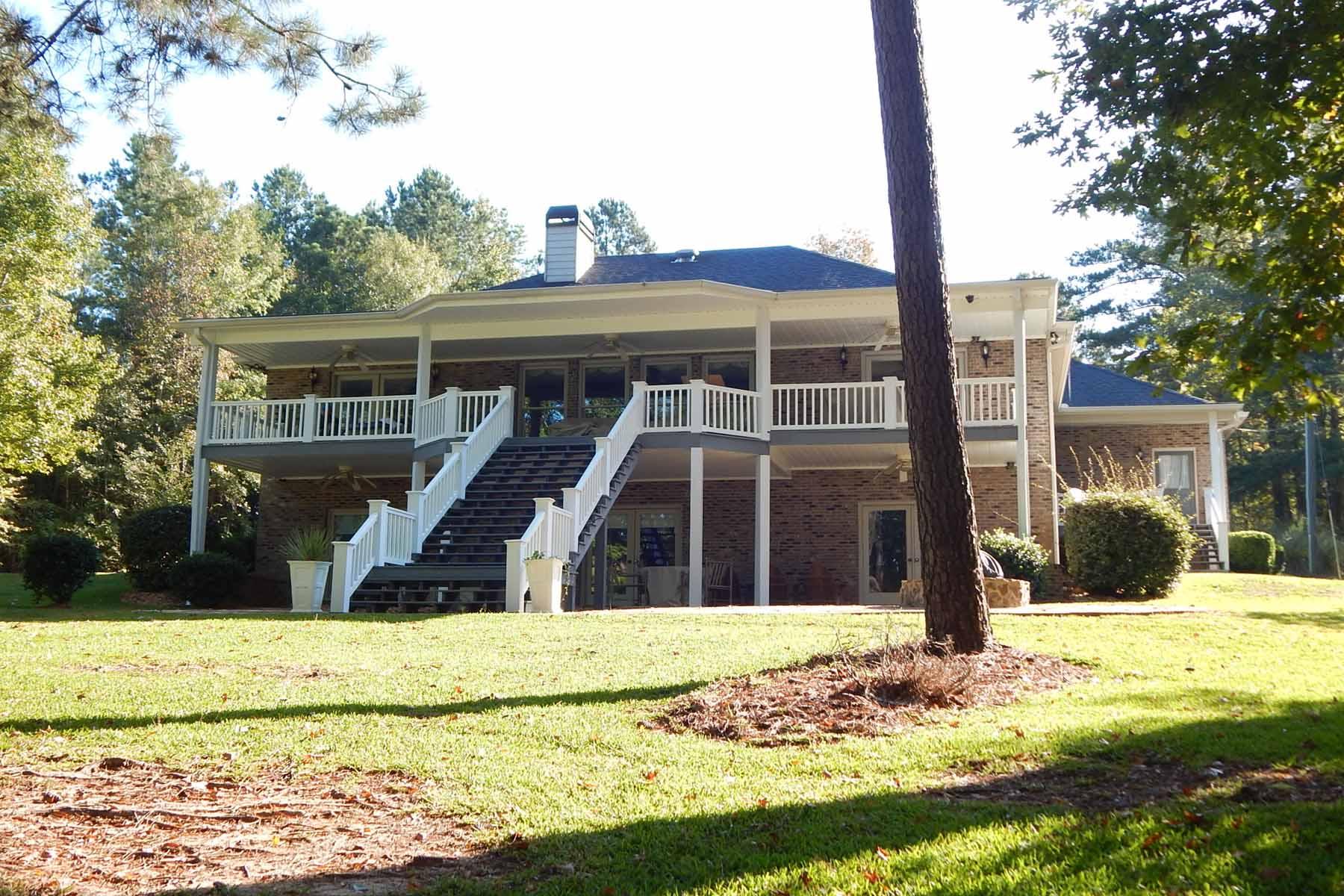 단독 가정 주택 용 매매 에 Serenity on Lake Sinclair 1514 Lake Crest Drive Sparta, 조지아 31087 미국