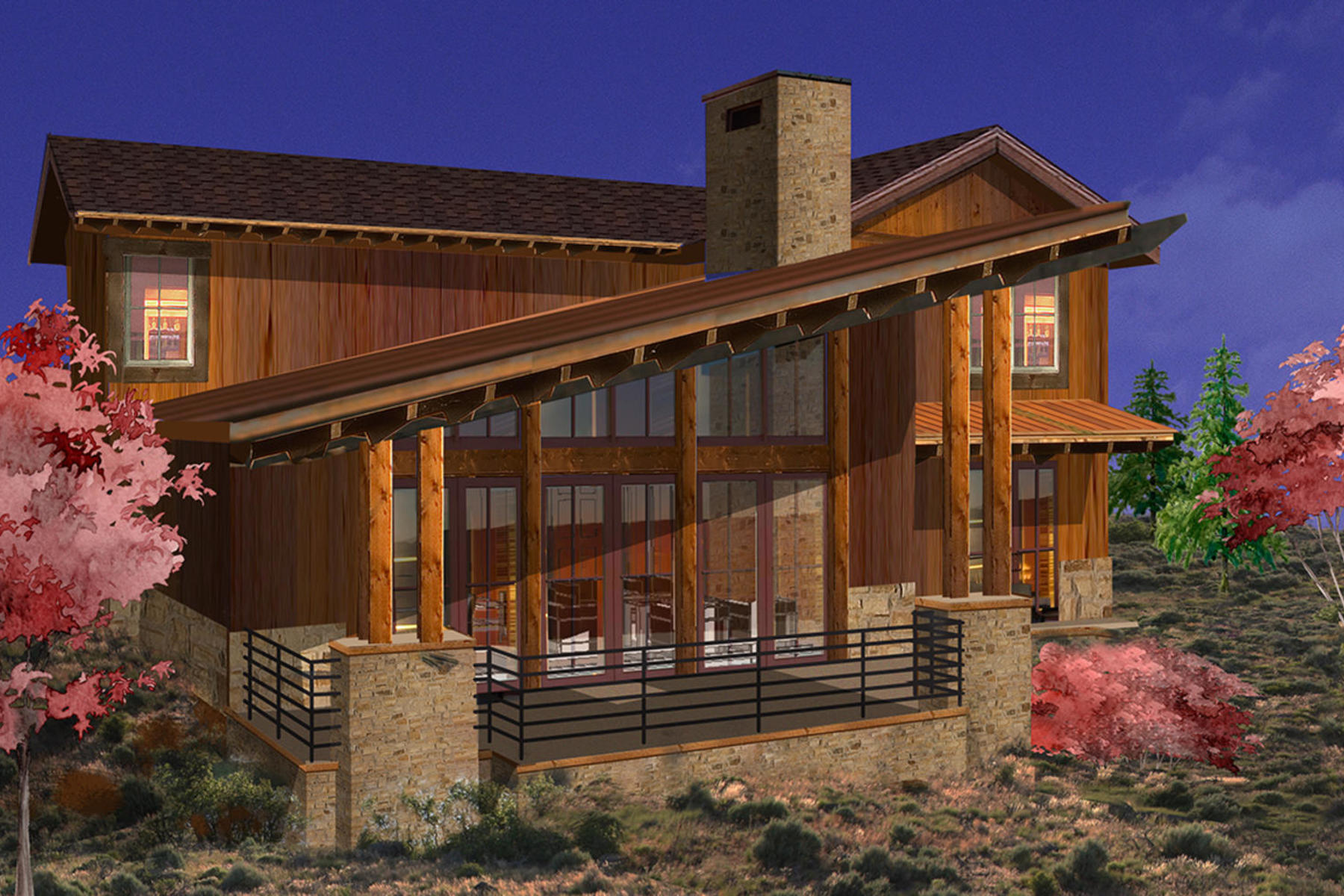 sales property at Luxury Park City Cabin in the Promontory Golf Community