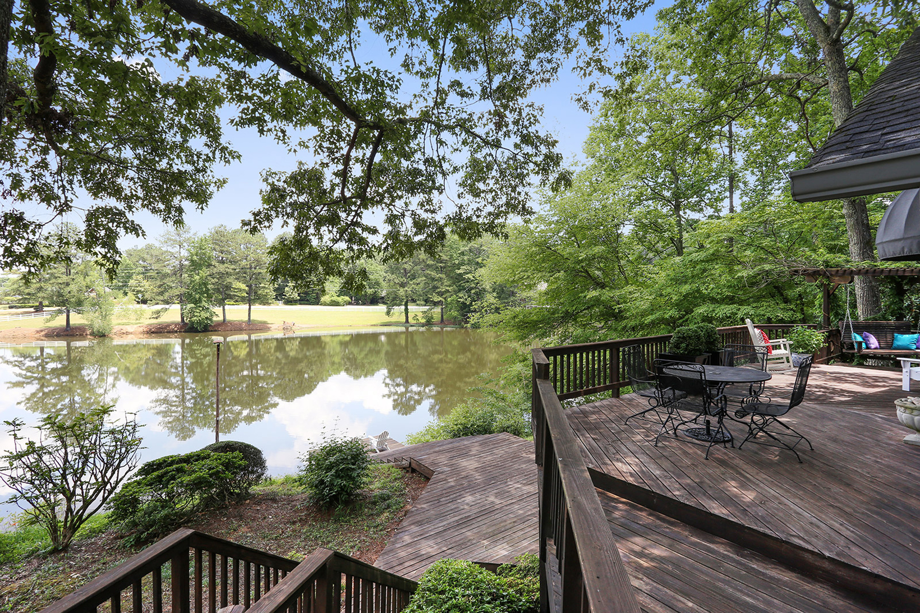 Additional photo for property listing at 12.8 Acres With House And Pond 4185 Old Stilesboro Road NW Kennesaw, Georgia 30152 Hoa Kỳ