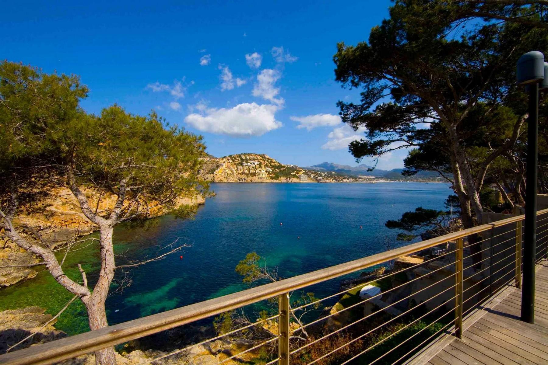 Einfamilienhaus für Verkauf beim style apartment with sea views in La Mola Port Andratx, Mallorca 07157 Spanien