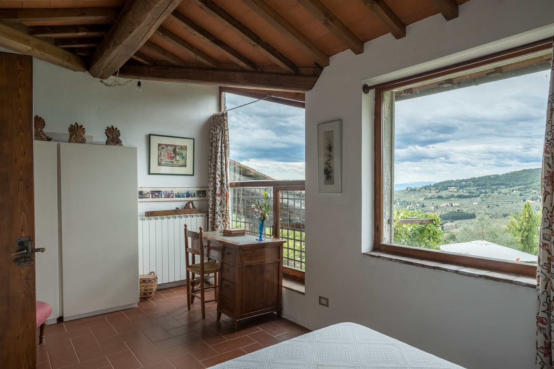 Additional photo for property listing at Farmhouse with swimming pool and lovely views over Florence Bagno A Ripoli, Florence Italie