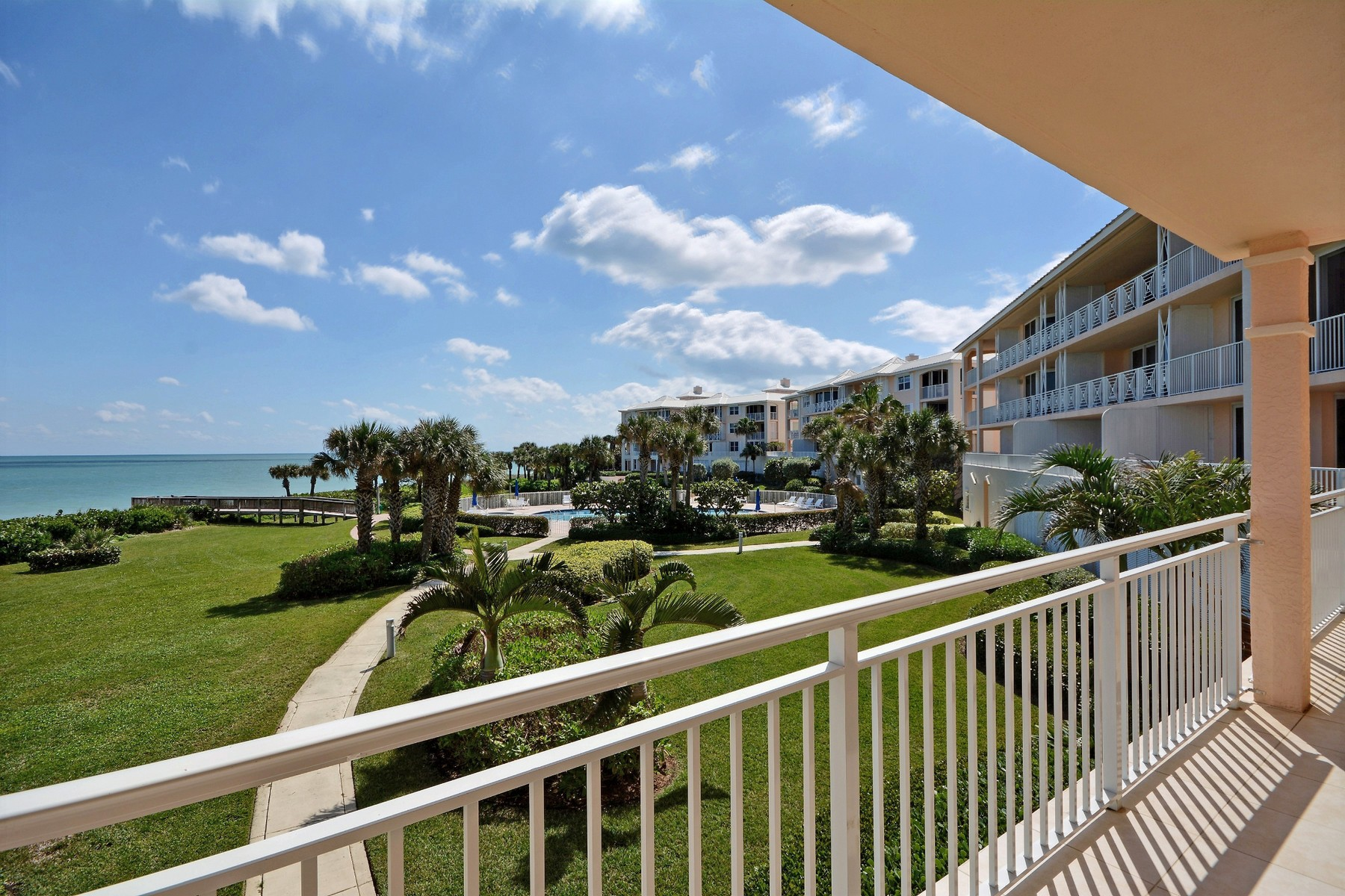 Condominium for Sale at Stunning Oceanfront Condo in Sea Oaks 8876 N Sea Oaks Way #403 Vero Beach, Florida, 32963 United States