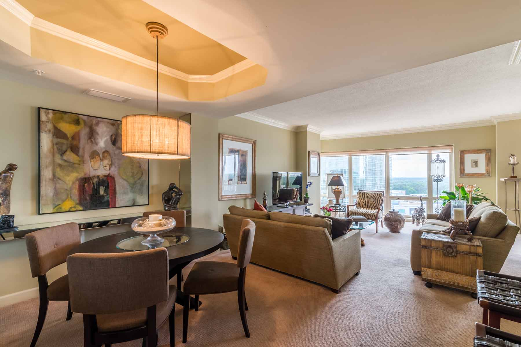 sales property at Combined Condo Units in the Heart of Buckhead